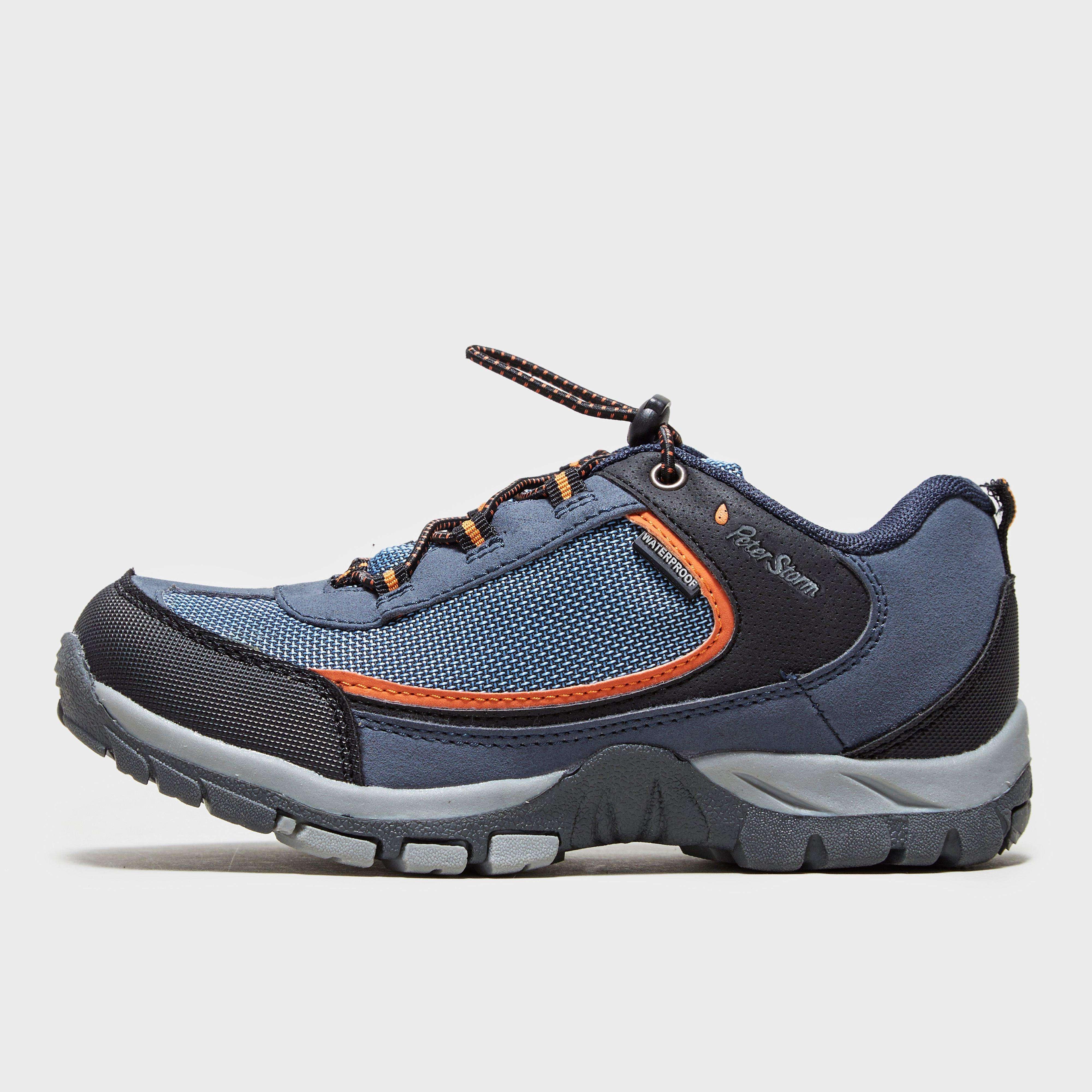 PETER STORM Boys' Hampton Waterproof Walking Shoe