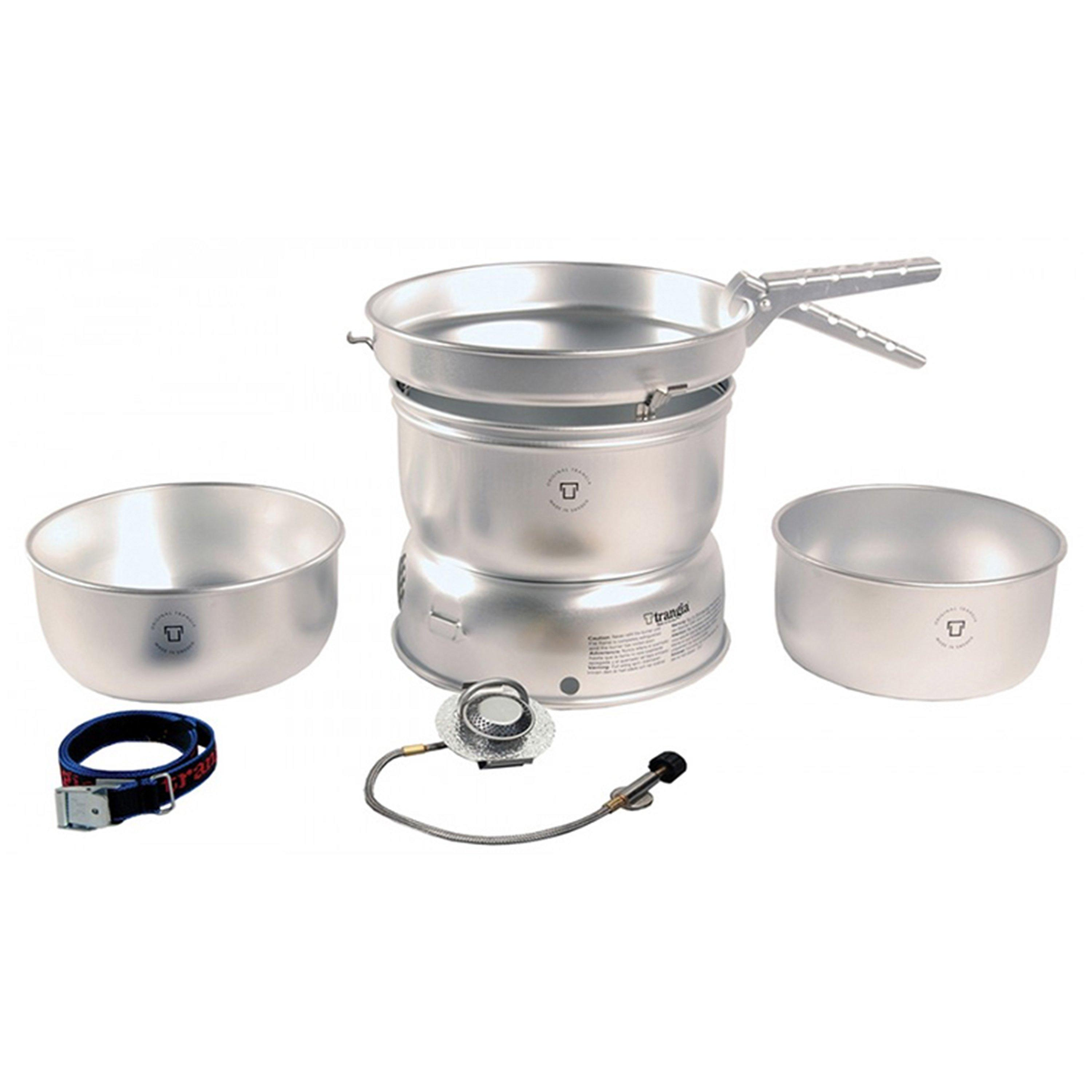 Trangia 271 Gas Cooking System (12 Person) Grey