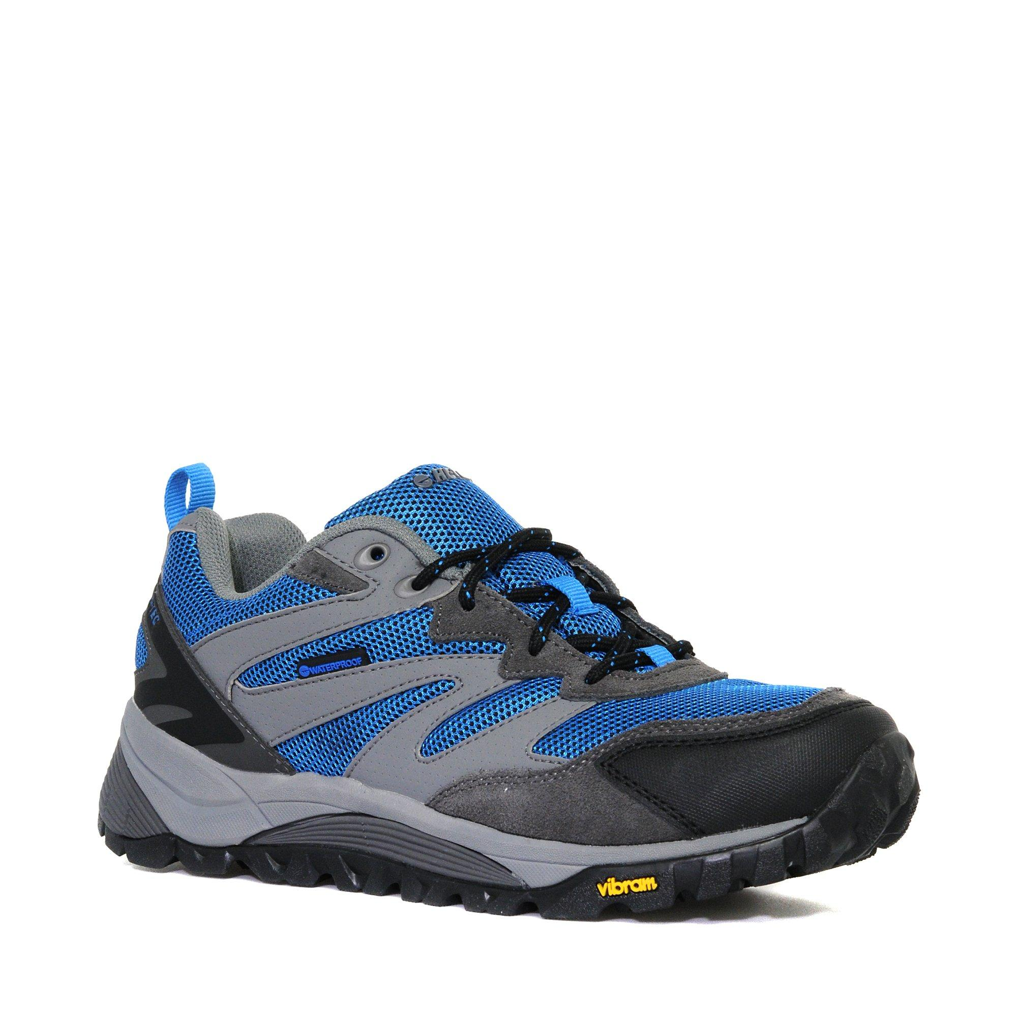 Hi Tec Mens VLite SpHike Waterproof Low Shoe Blue