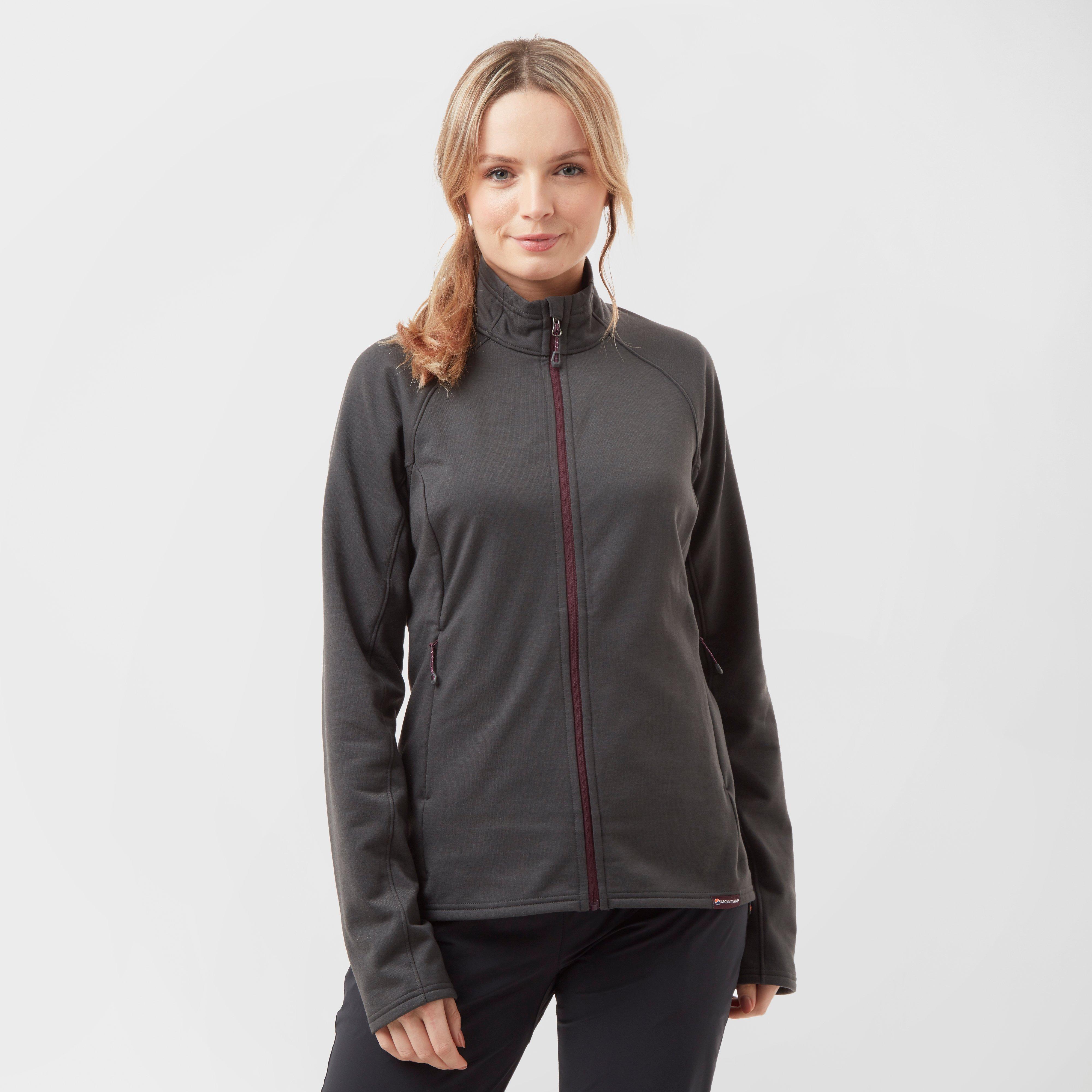 Montane Women's Bellatrix Fleece Jacket, Grey