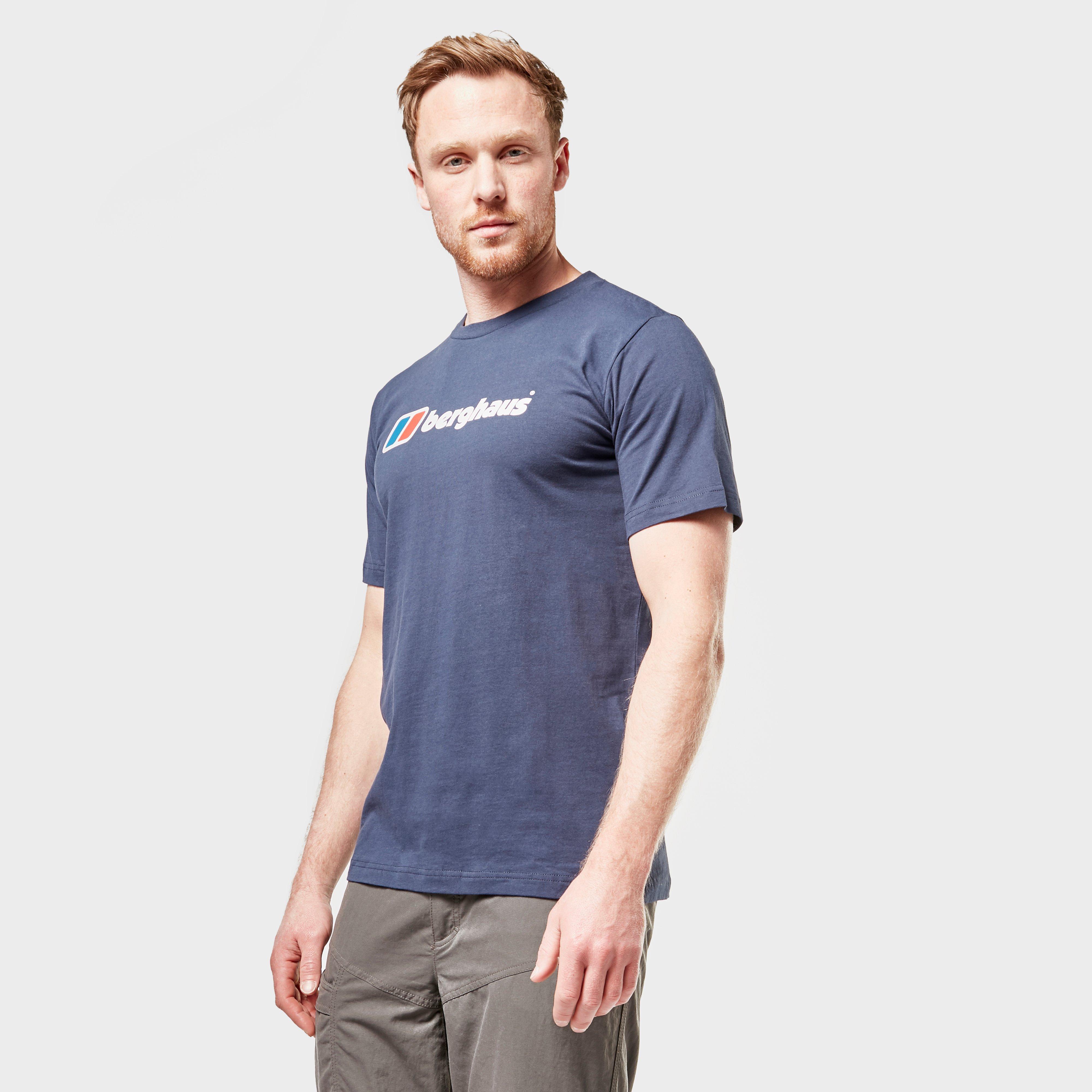 Berghaus Mens Corporate Logo T-shirt - Navy/navy  Navy/navy
