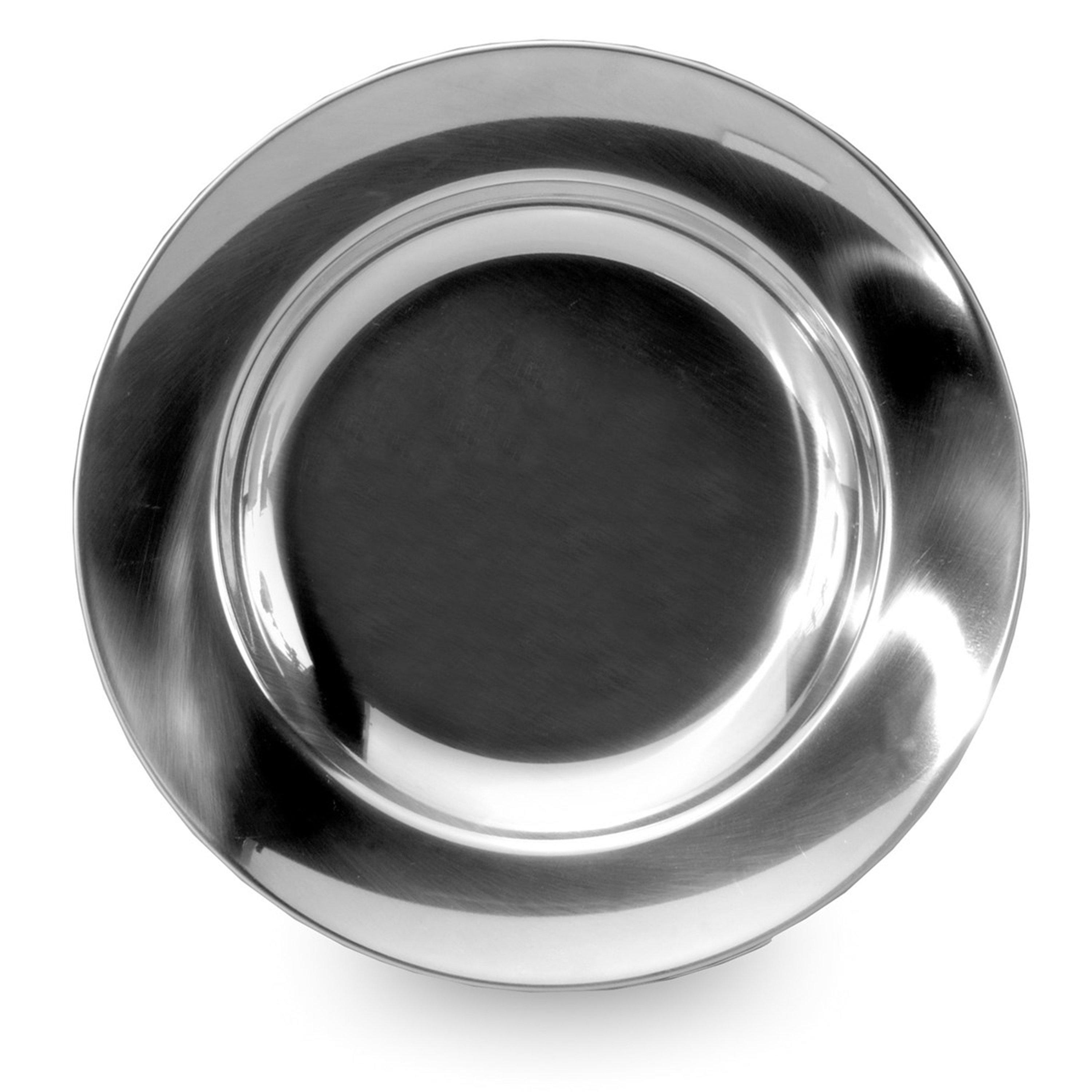Lifeventure Stainless Steel Plate - Silver/asso  Silver/asso