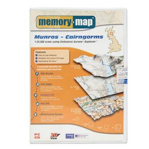 MEMORY MAP Explorer Cairngorms CD-Rom