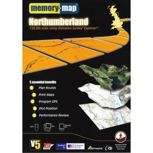 MEMORY MAP Explorer Northumberland CD ROM