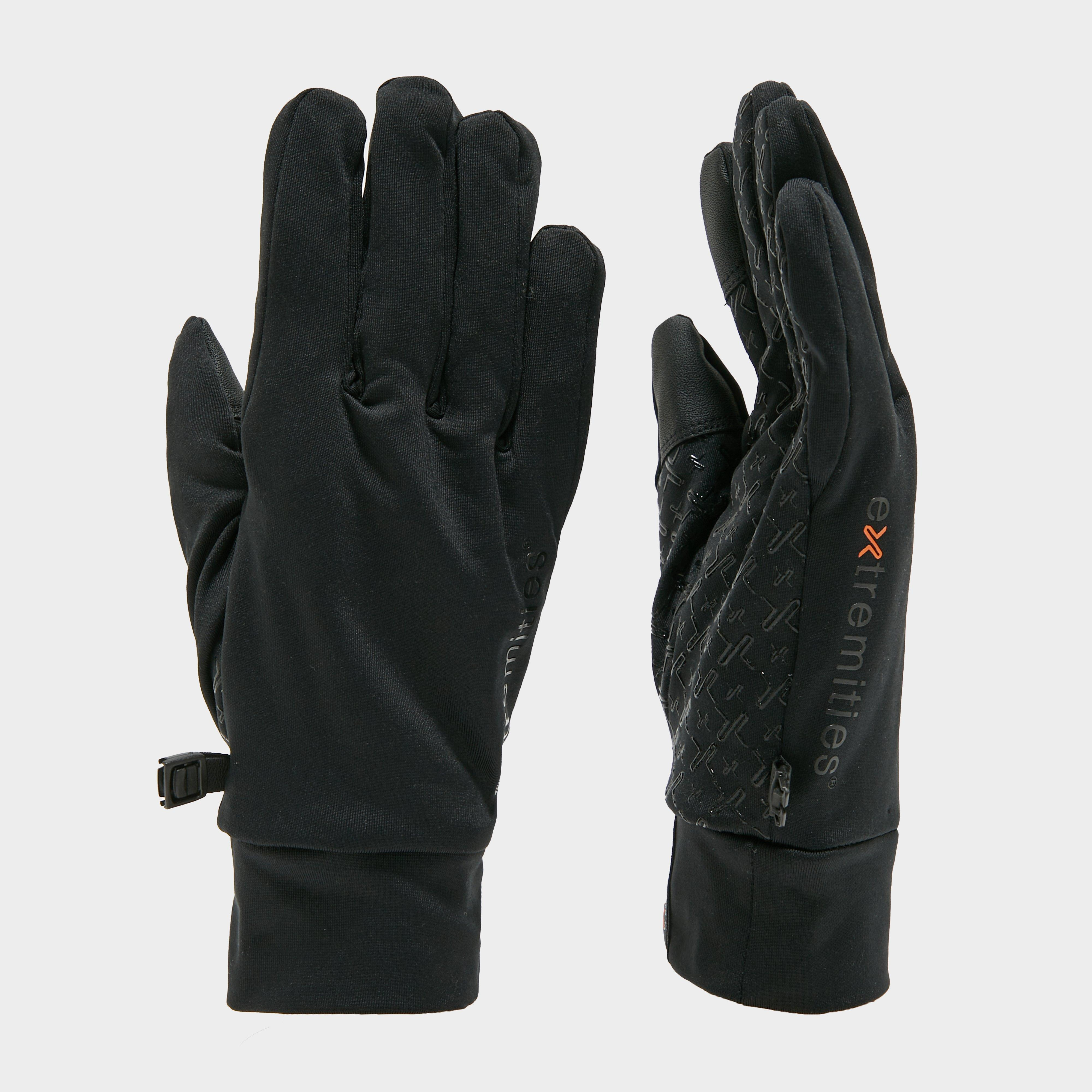 Extremities Waterproof Sticky Power Liner Glove - Black, Black