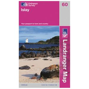 ORDNANCE SURVEY Landranger 60 Islay Map