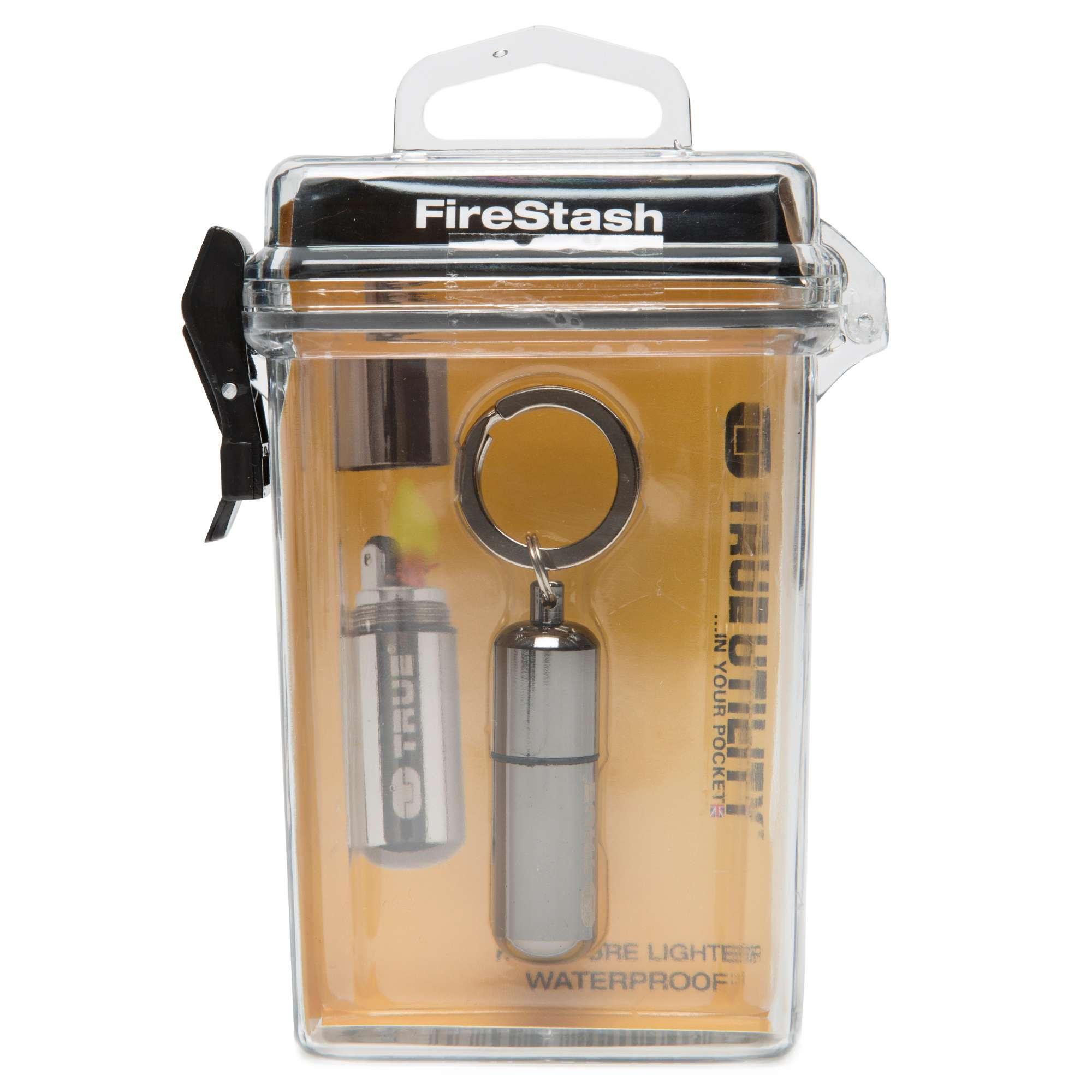 TRUE UTILITY Firestash Miniature Waterproof Lighter