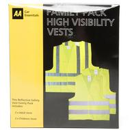 Family High Visibility Vest Pack