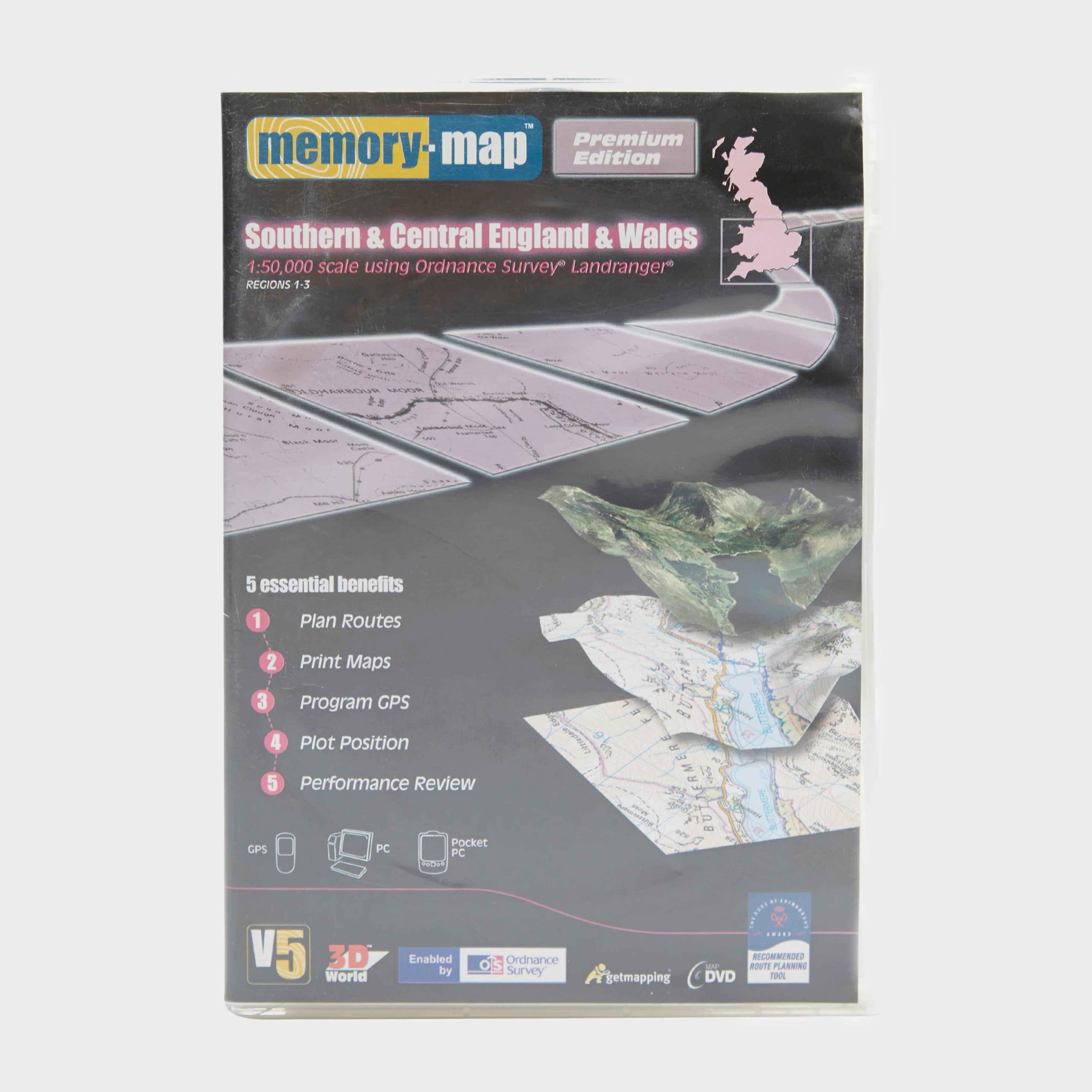 Memory Map Os Landranger Regions 1-3 - Southern & Central England & Wales - Multi/Assor, Multi/ASSOR
