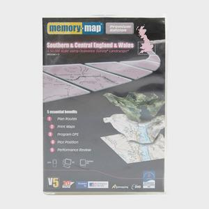MEMORY MAP OS Landranger Regions 1-3 - Southern & Central England & Wales