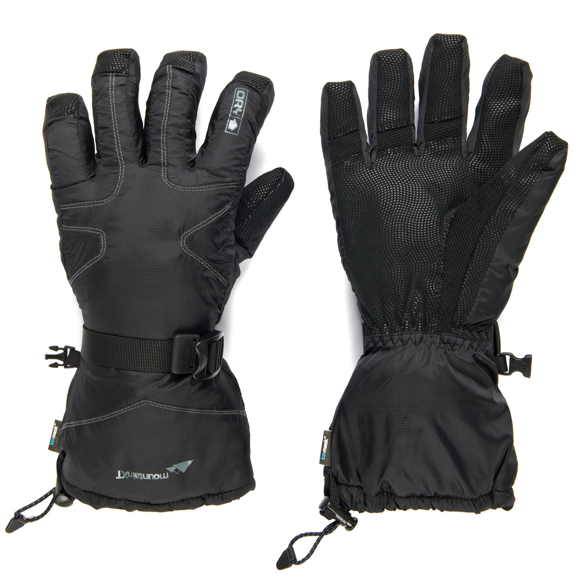 Trekmates Men's mountainXT DRY Snow Gloves, Black