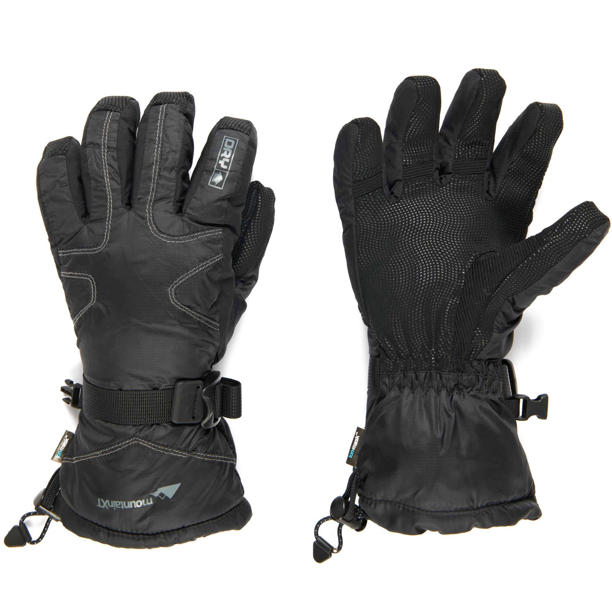 Trekmates Women's mountainXT DRY Snow Gloves, Black
