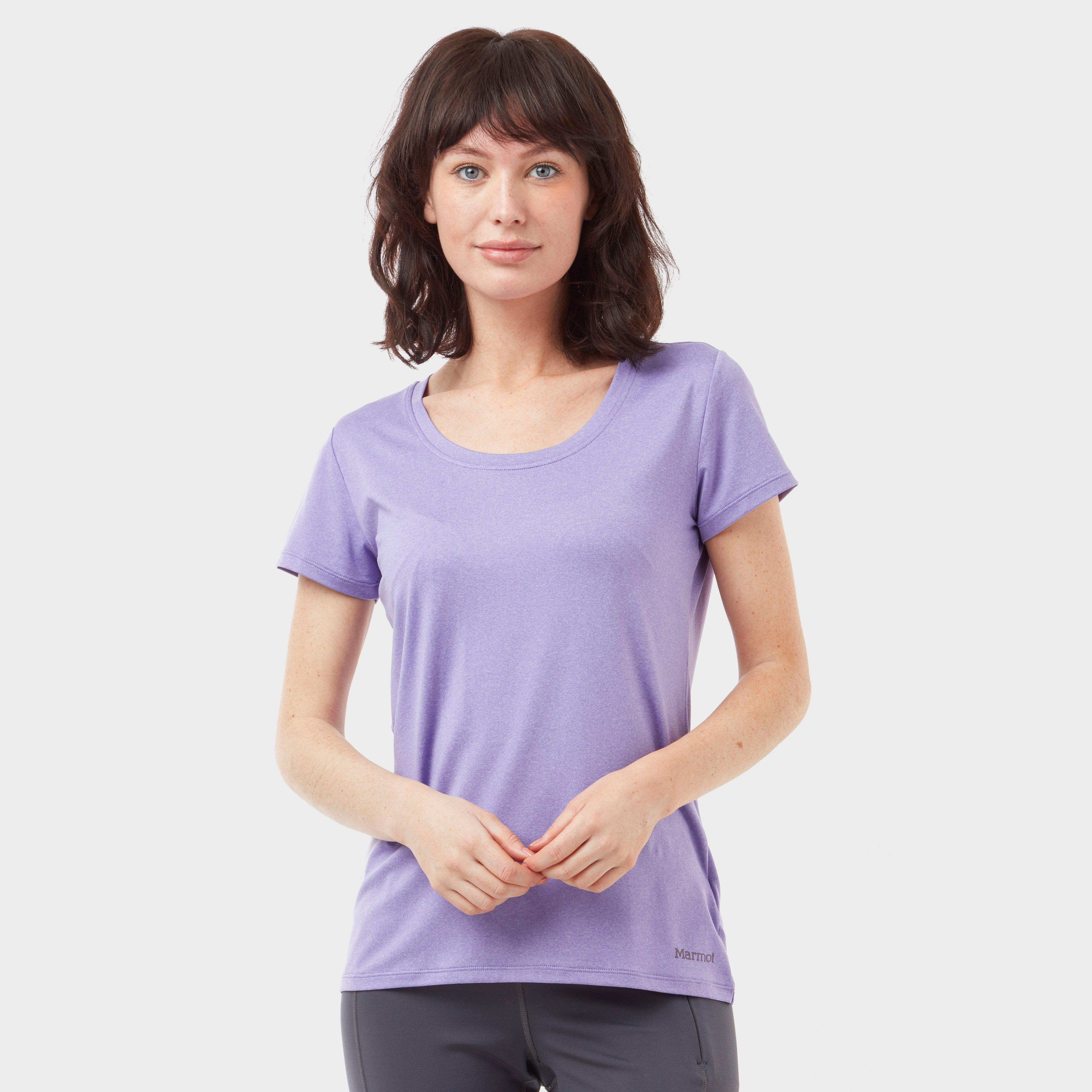 Marmot Women's All Around Tee, Purple