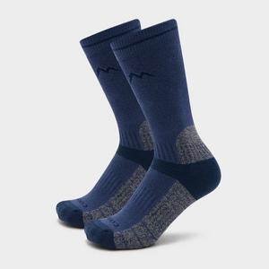 PETER STORM Women's Midweight Outdoor Socks - 2 Pair Pack