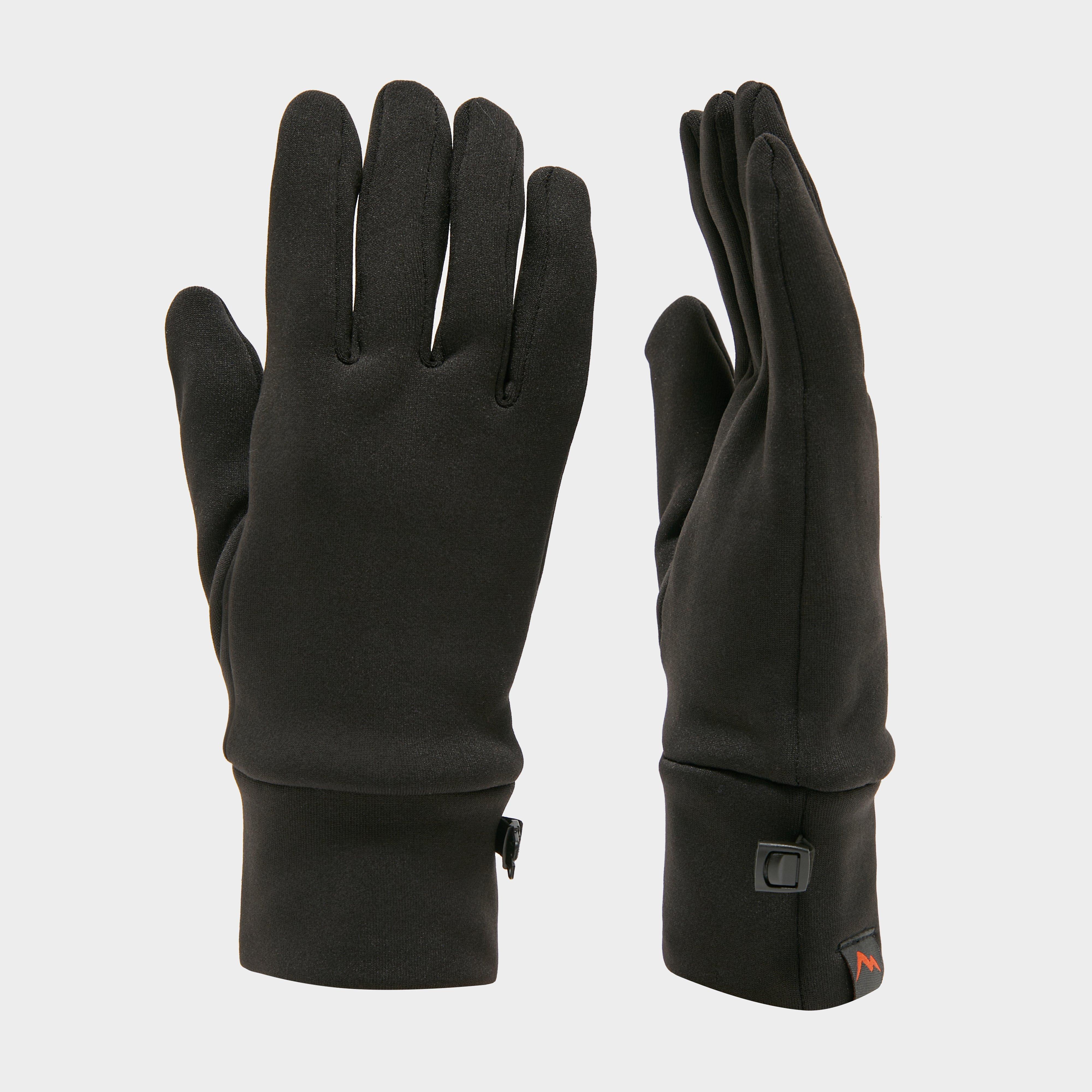 Peter Storm 6 Way Stretch Gloves - Black, Black