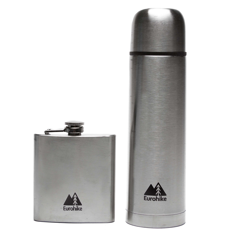 EUROHIKE 0.5L Flask & Hip Flask