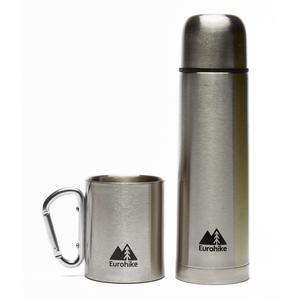 EUROHIKE 0.5L Flask & Karabiner Mug