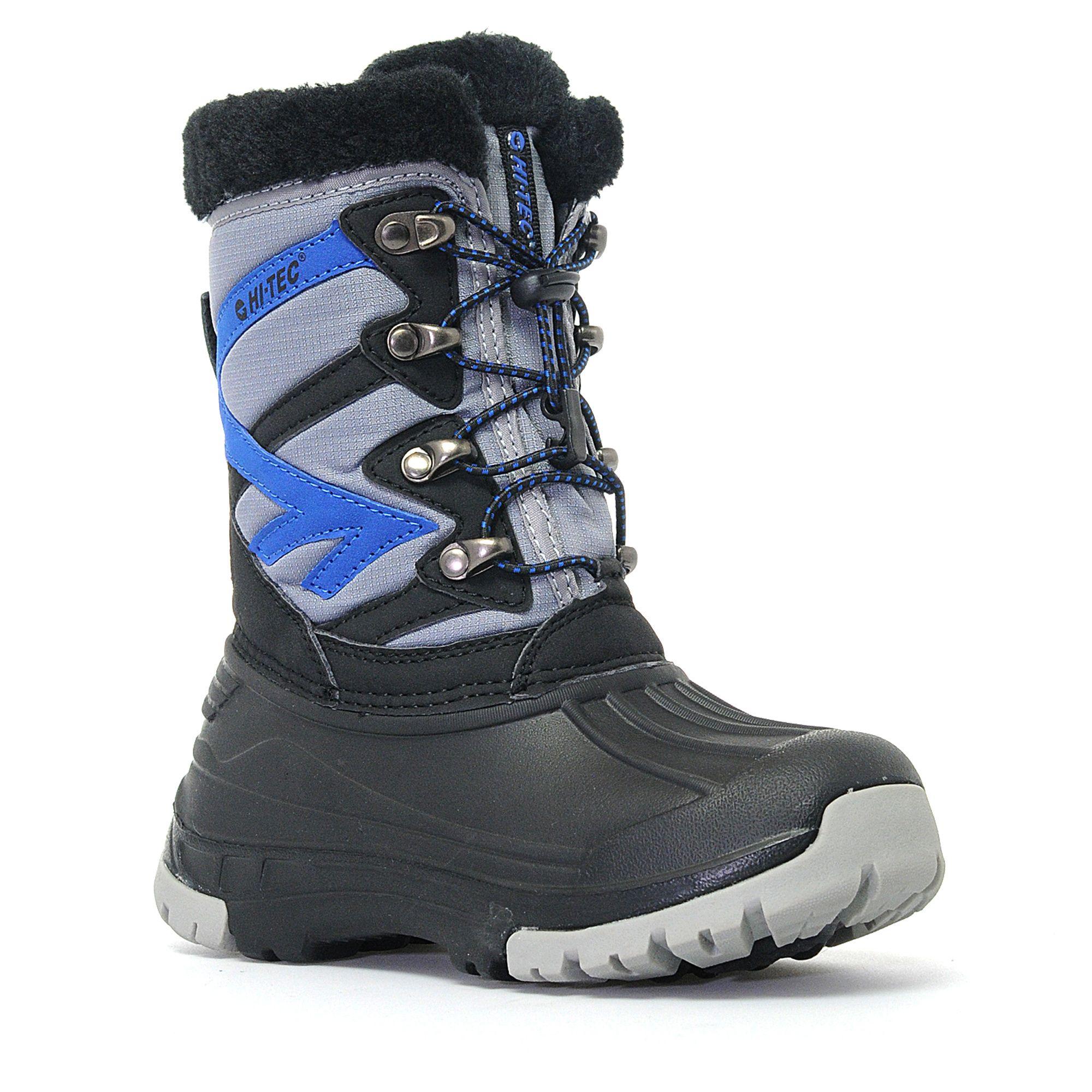 HI TEC Boys' Avalanche Junior Snow Boot