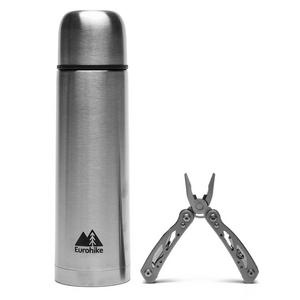 EUROHIKE 0.5 Litre Flask and Multi Tool