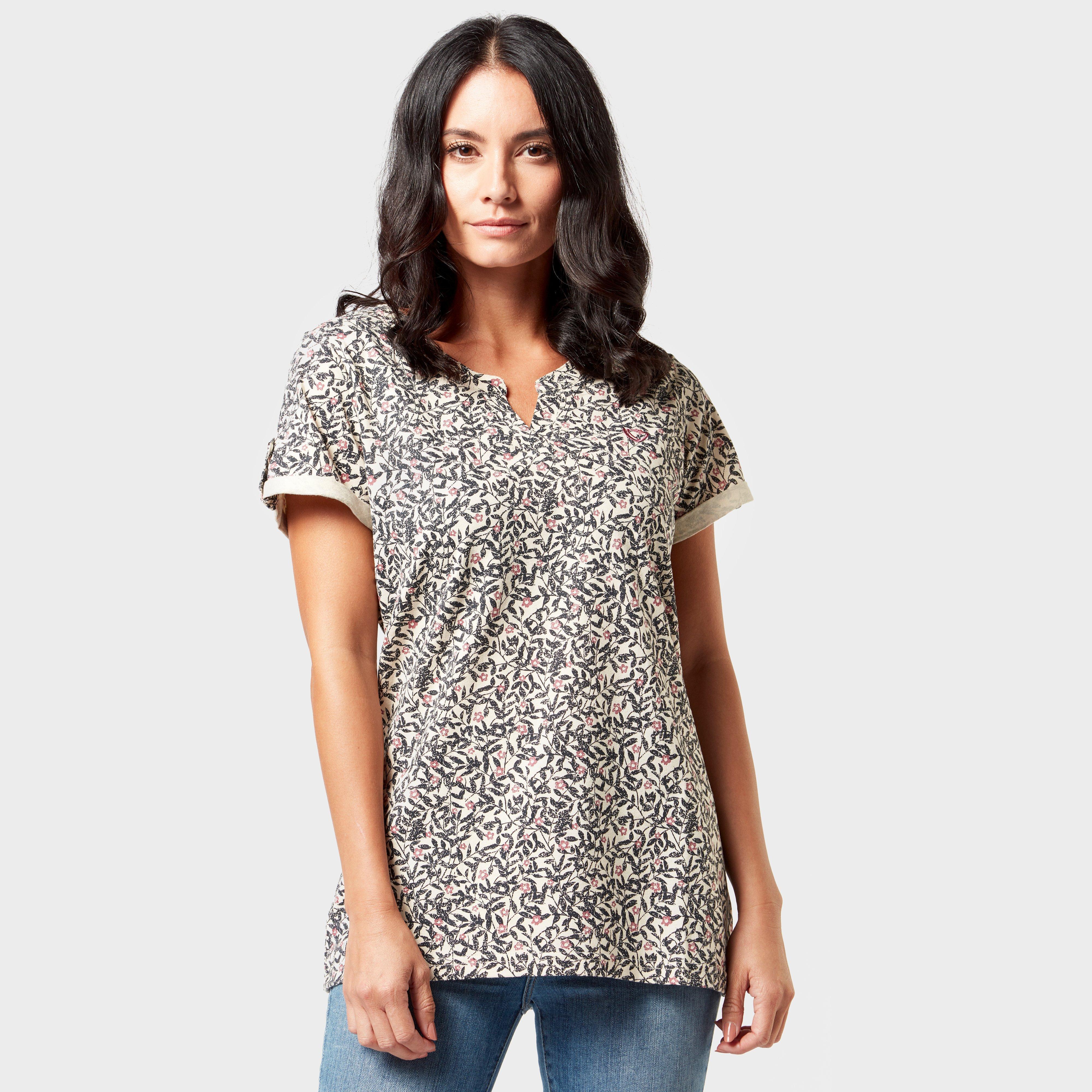 Brasher Womens Aop Print T-shirt - Multi/nvy  Multi/nvy