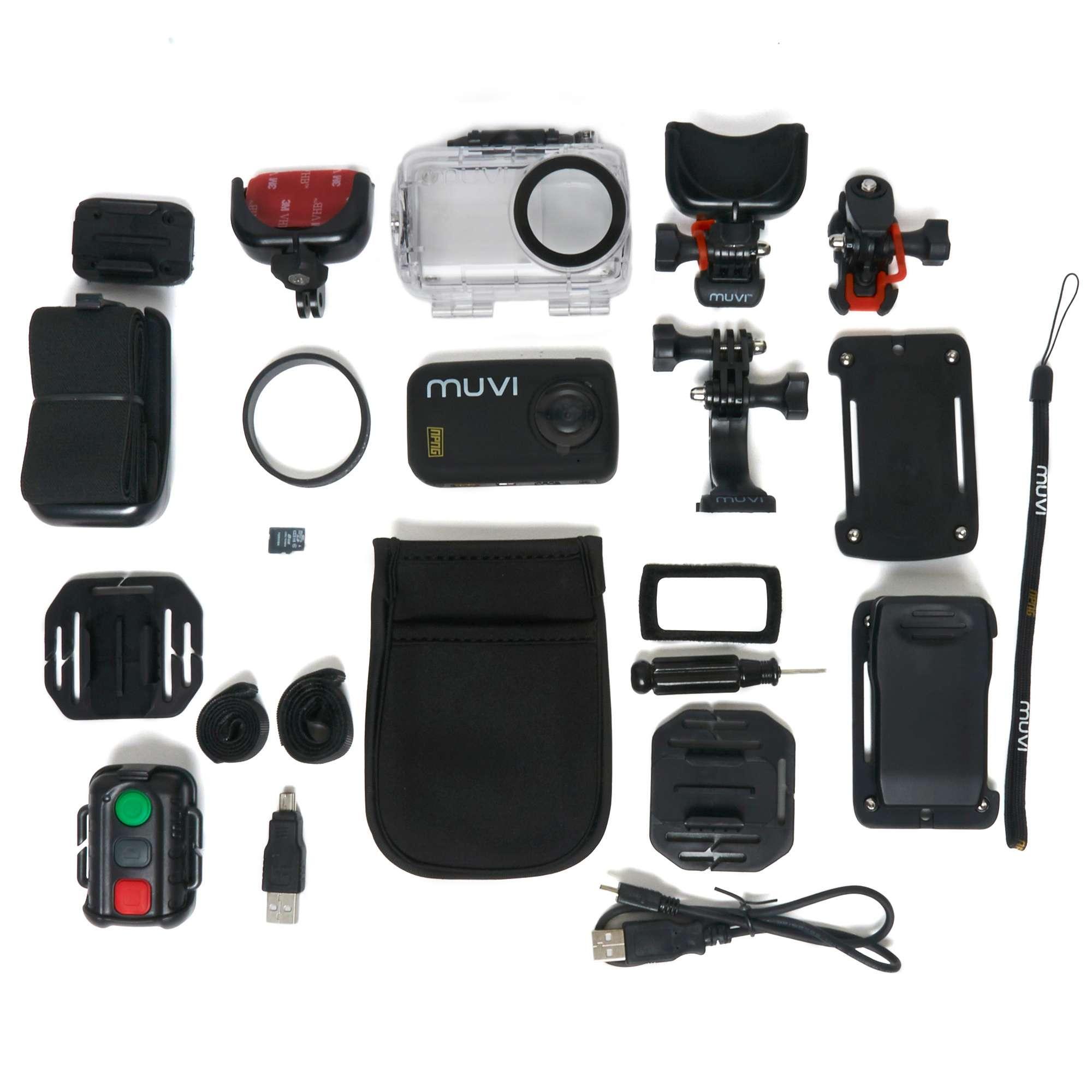 VEHO Muvi HD Mini Action Camcorder 8GB 'No Proof No Glory' Edition