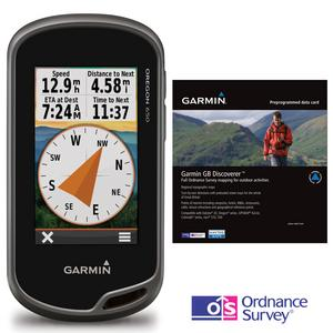 GARMIN Oregon 650 GPS Discoverer™ Bundle (with GB 1:50K Map)