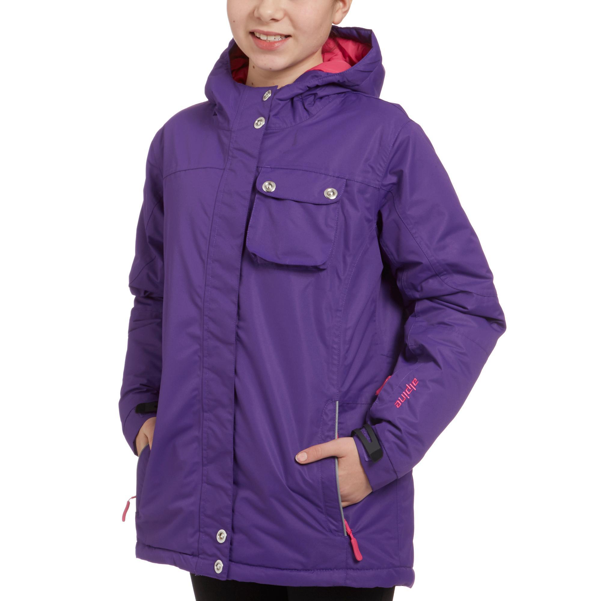 Alpine Girl's Ski Jacket, Purple