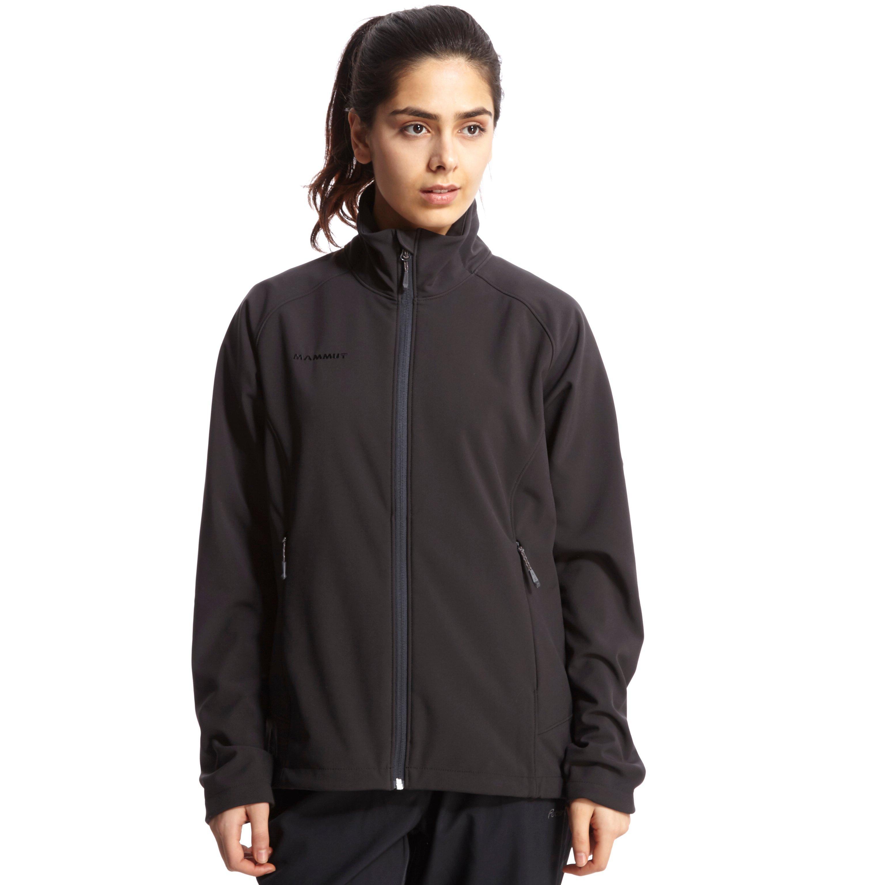 Mammut Womens Ladakh Softshell Jacket Black