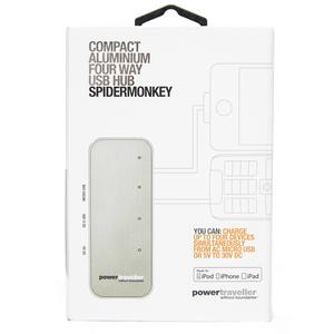POWERTRAVELLER Spidermonkey USB Charging Hub