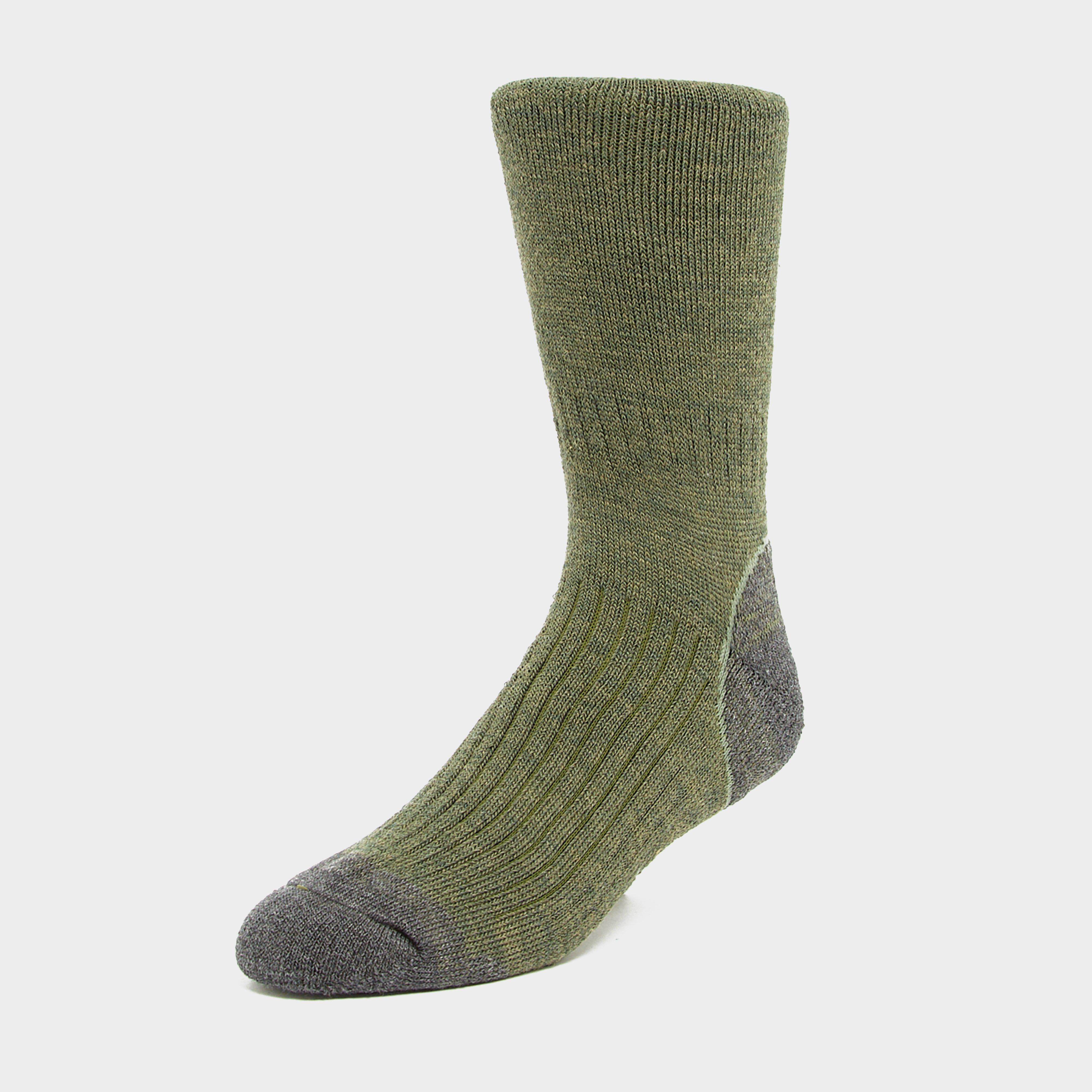 Brasher Mens Trekker Socks - Green/grn  Green/grn