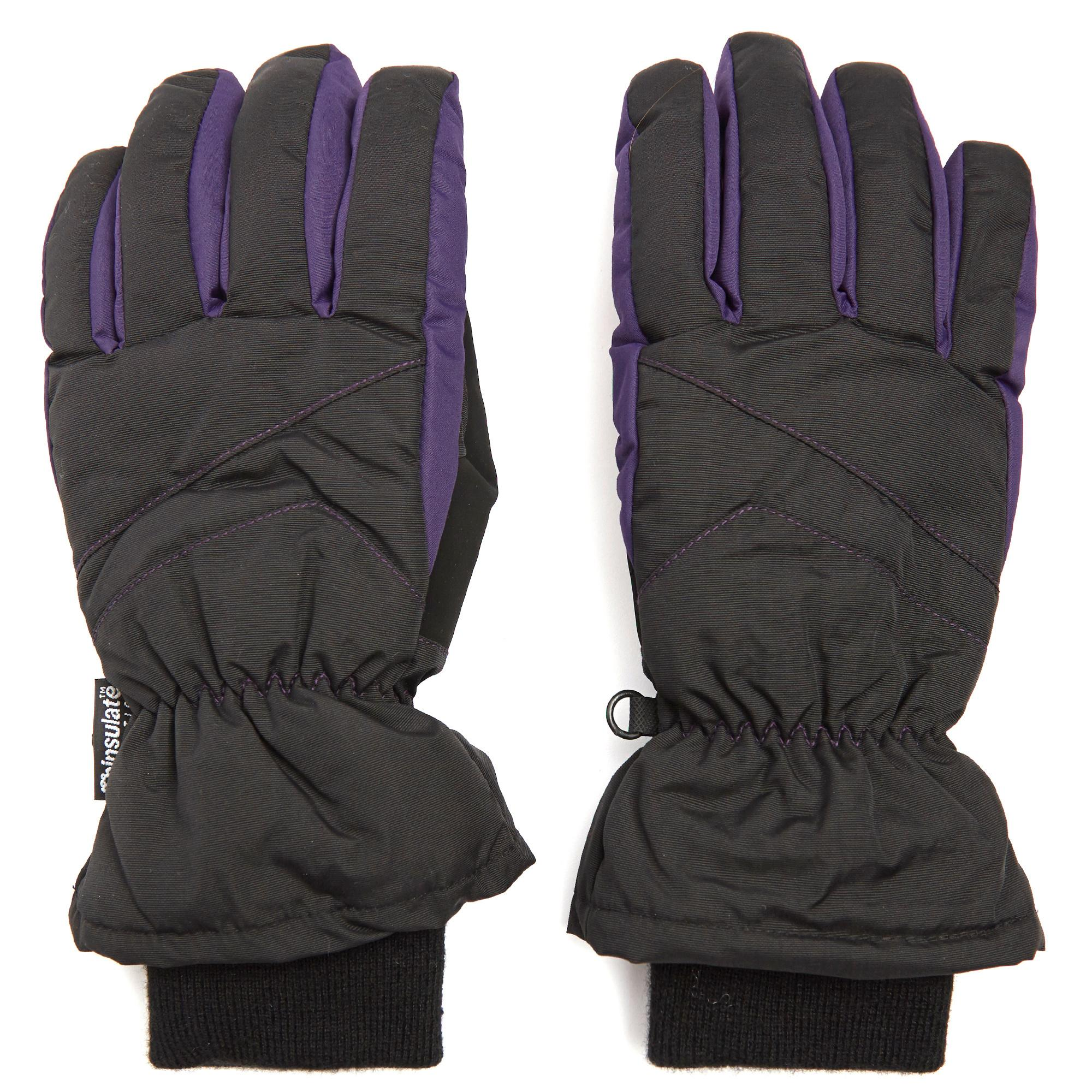 Peter Storm Women's Ski Gloves, Black