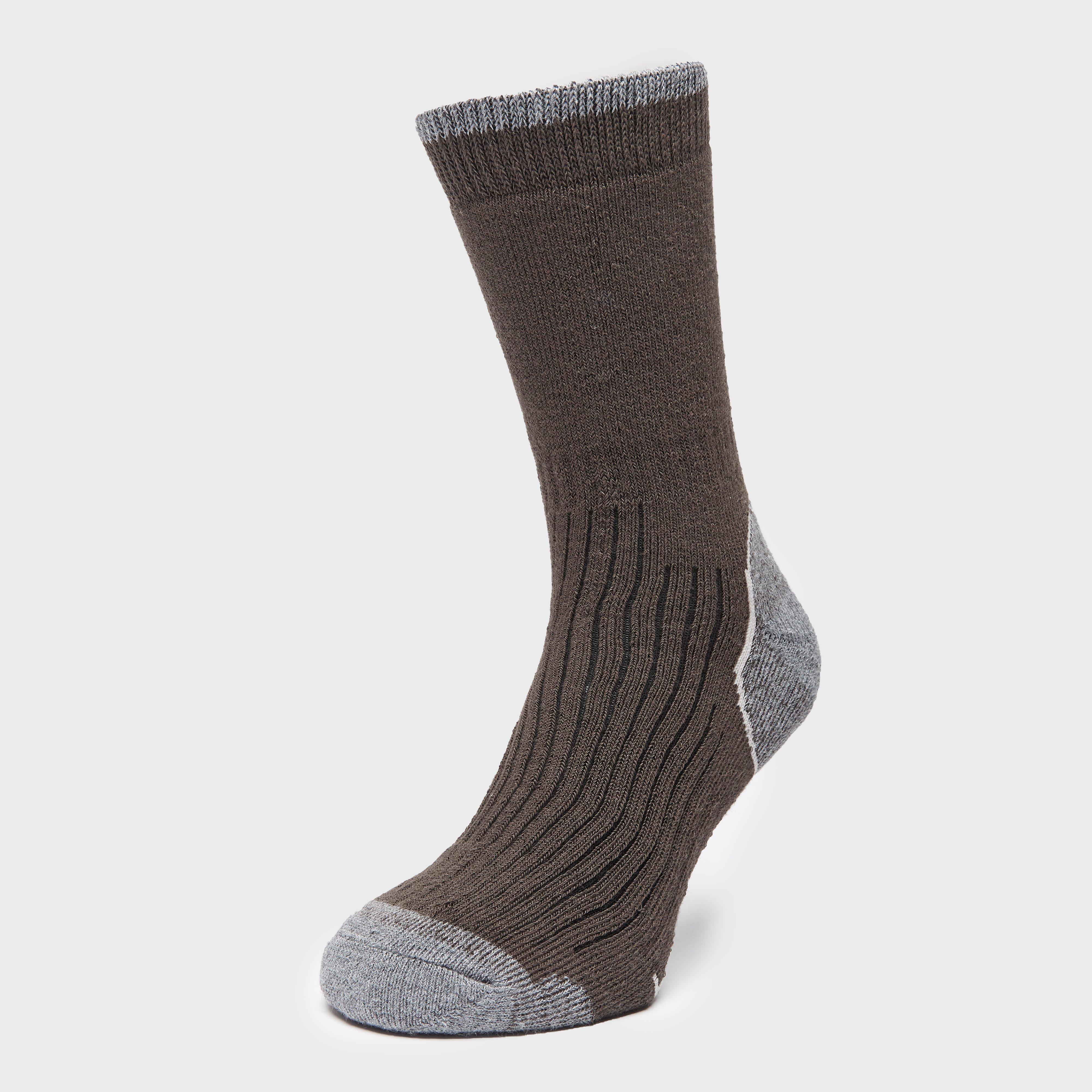Brasher Mens Hiker Socks - Brown/blk/gry  Brown/blk/gry