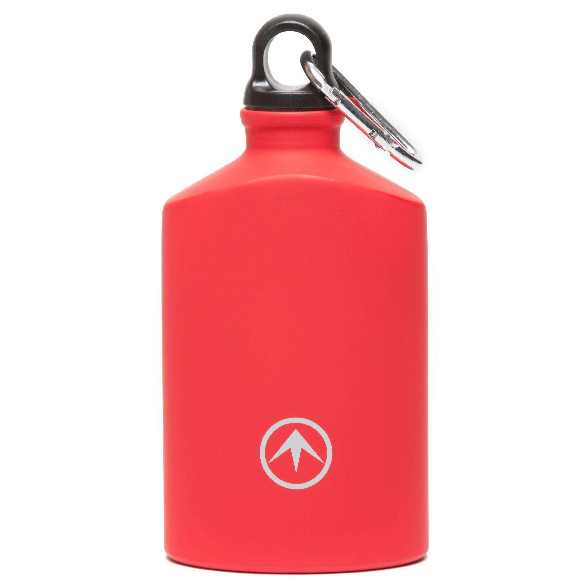 Blacks 0.75L Hip Flask, Red