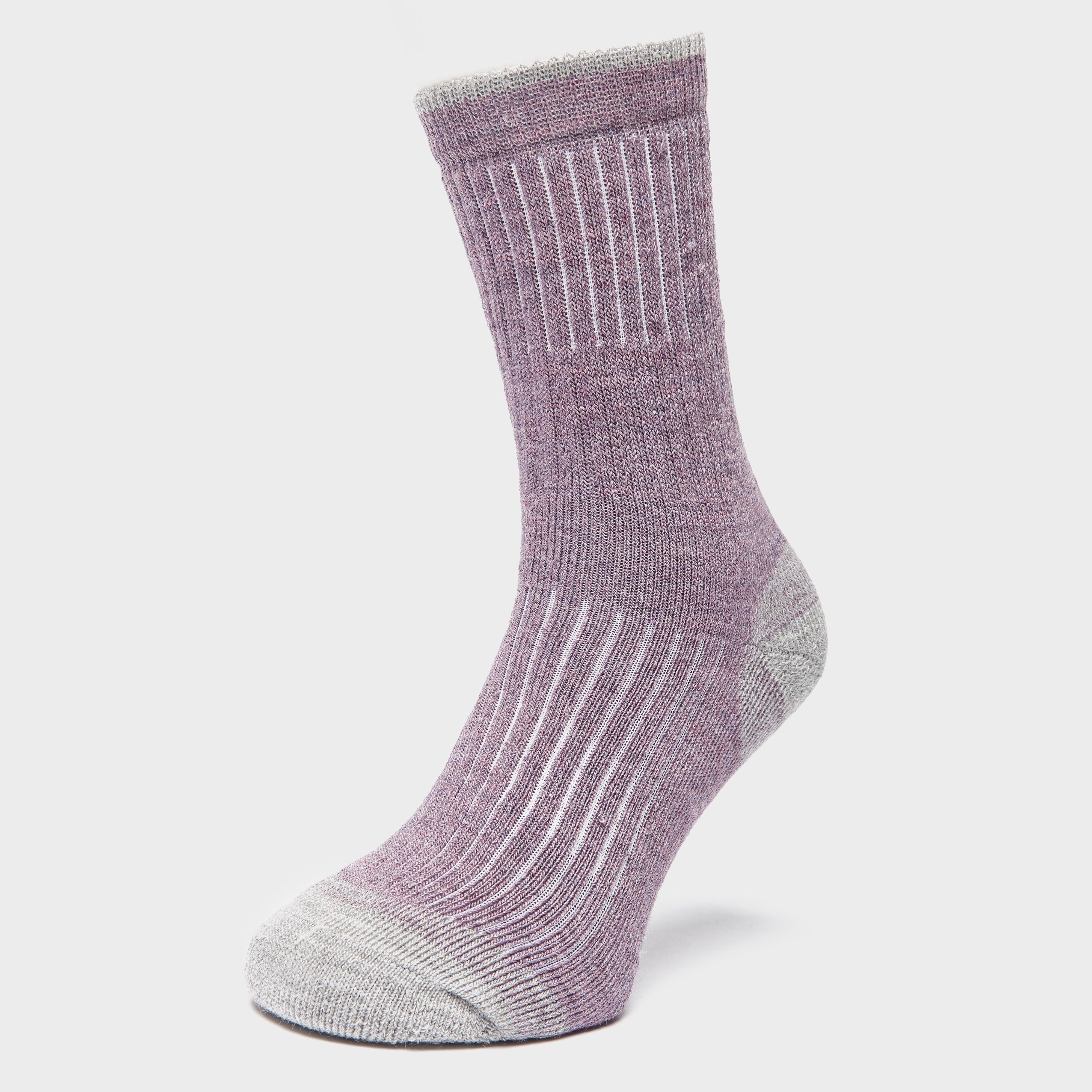 Brasher Womens Trekker Socks - Purple/pur  Purple/pur
