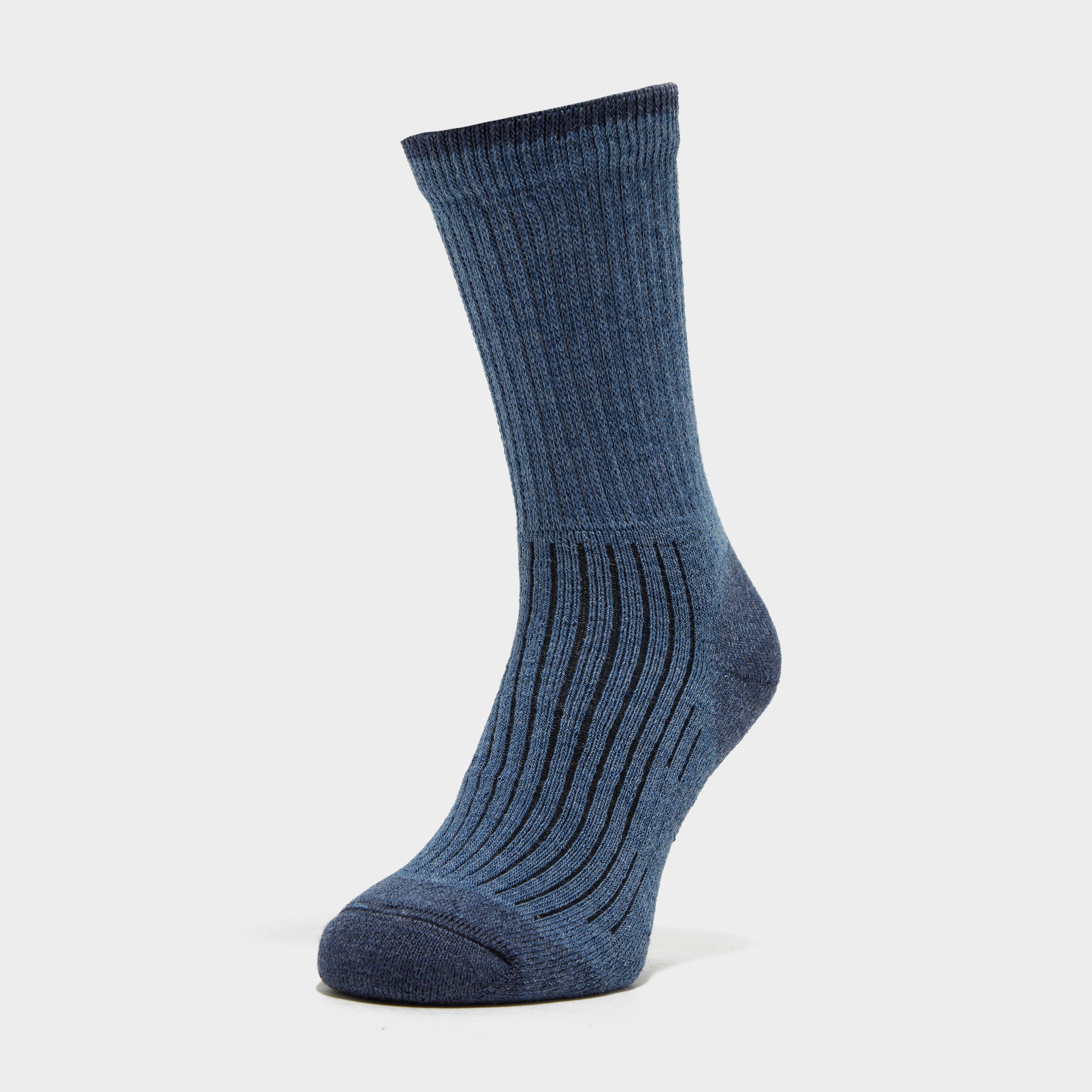 Brasher Womens Hiker Socks - Blue/blue  Blue/blue