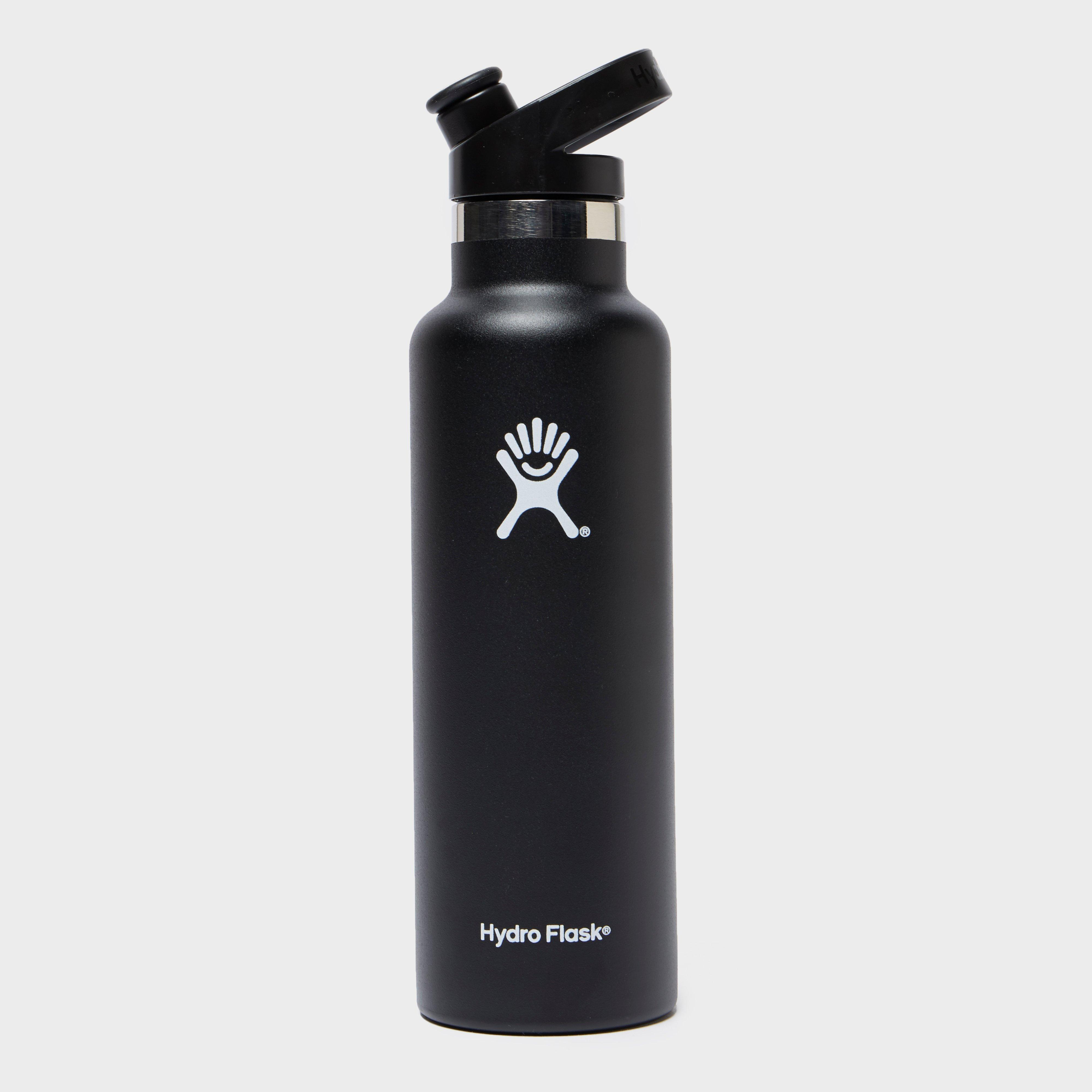 Hydro Flask 600Ml Standard Mouth Sport Cap Drinking Bottle - Black/Black, Black/BLACK