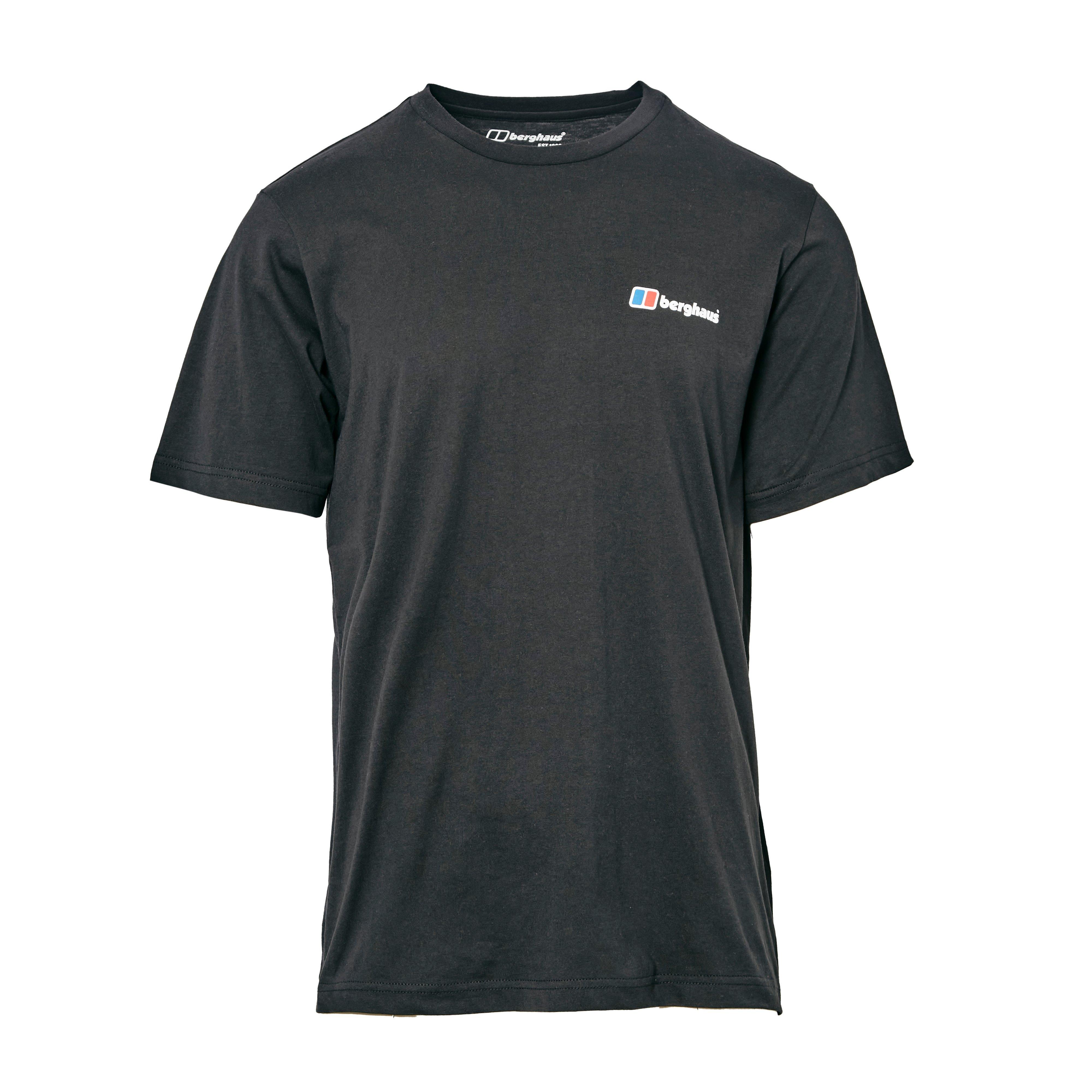 Berghaus Mens Logo T-shirt - Black/black  Black/black