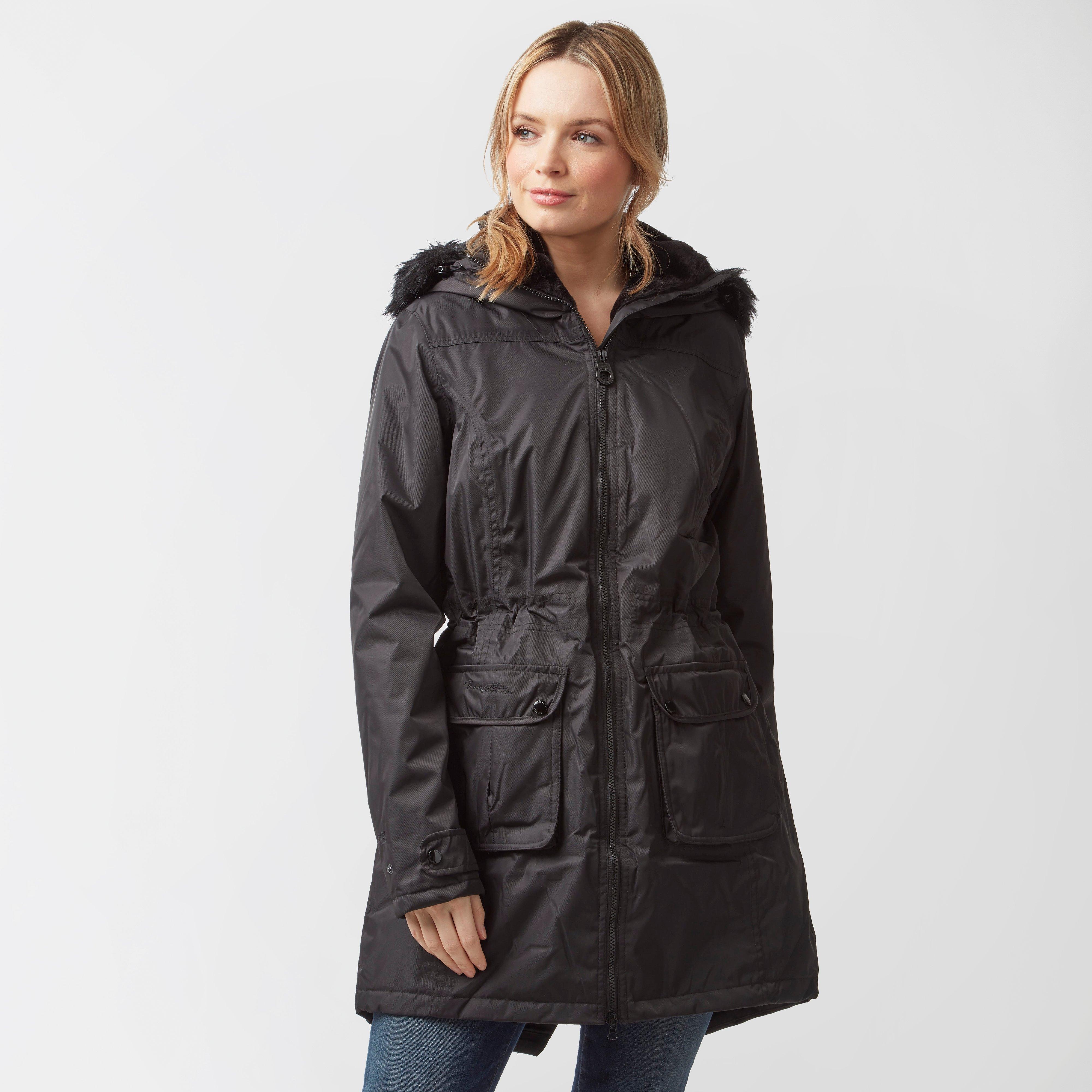 Regatta Women's Lucasta Waterproof Insulated Jacket, Black