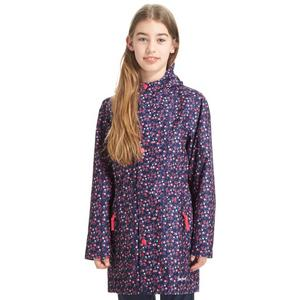 PETER STORM Girl's Waterproof Patterned Jacket