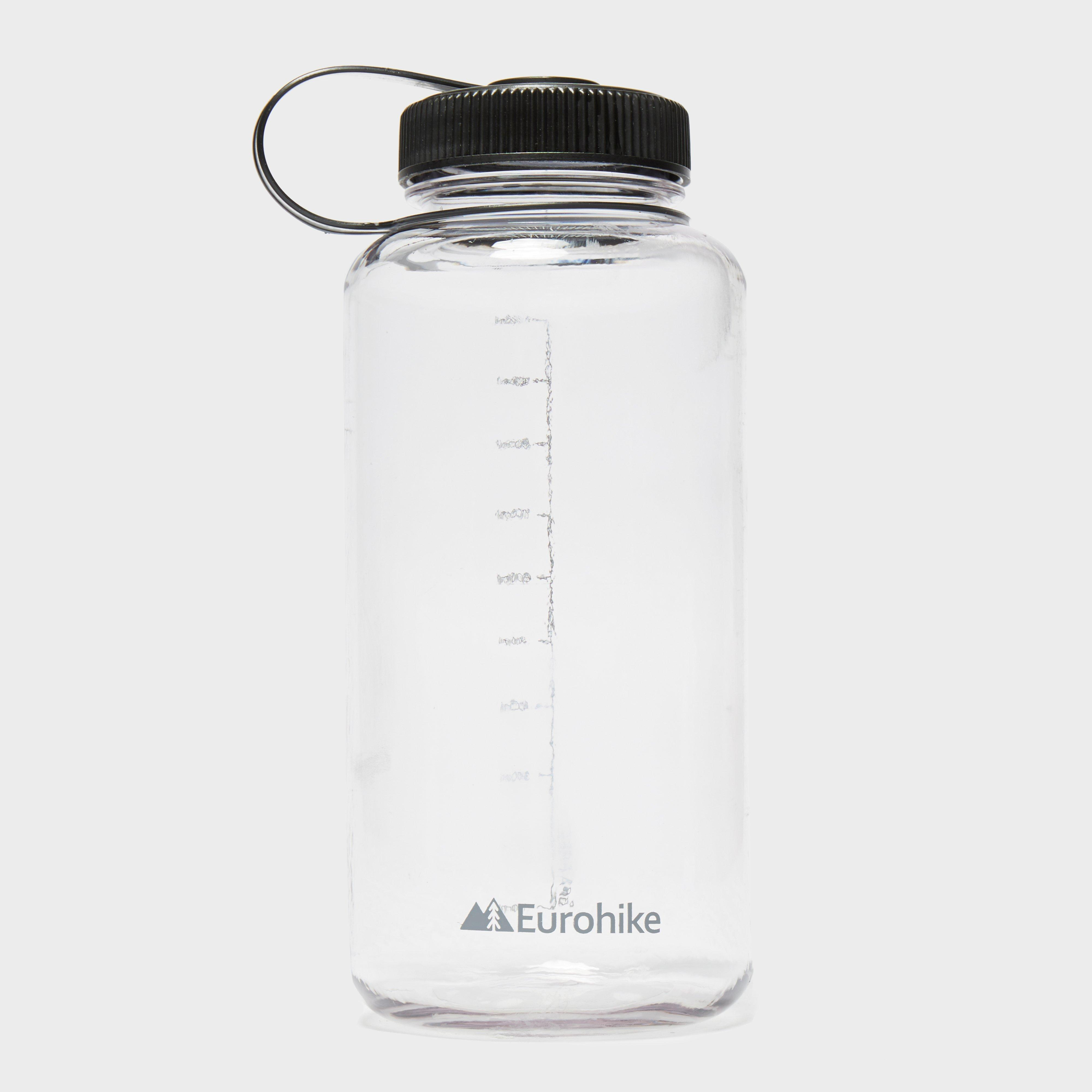 Eurohike Widemouth 1 Litre Bottle, Clear/CLR