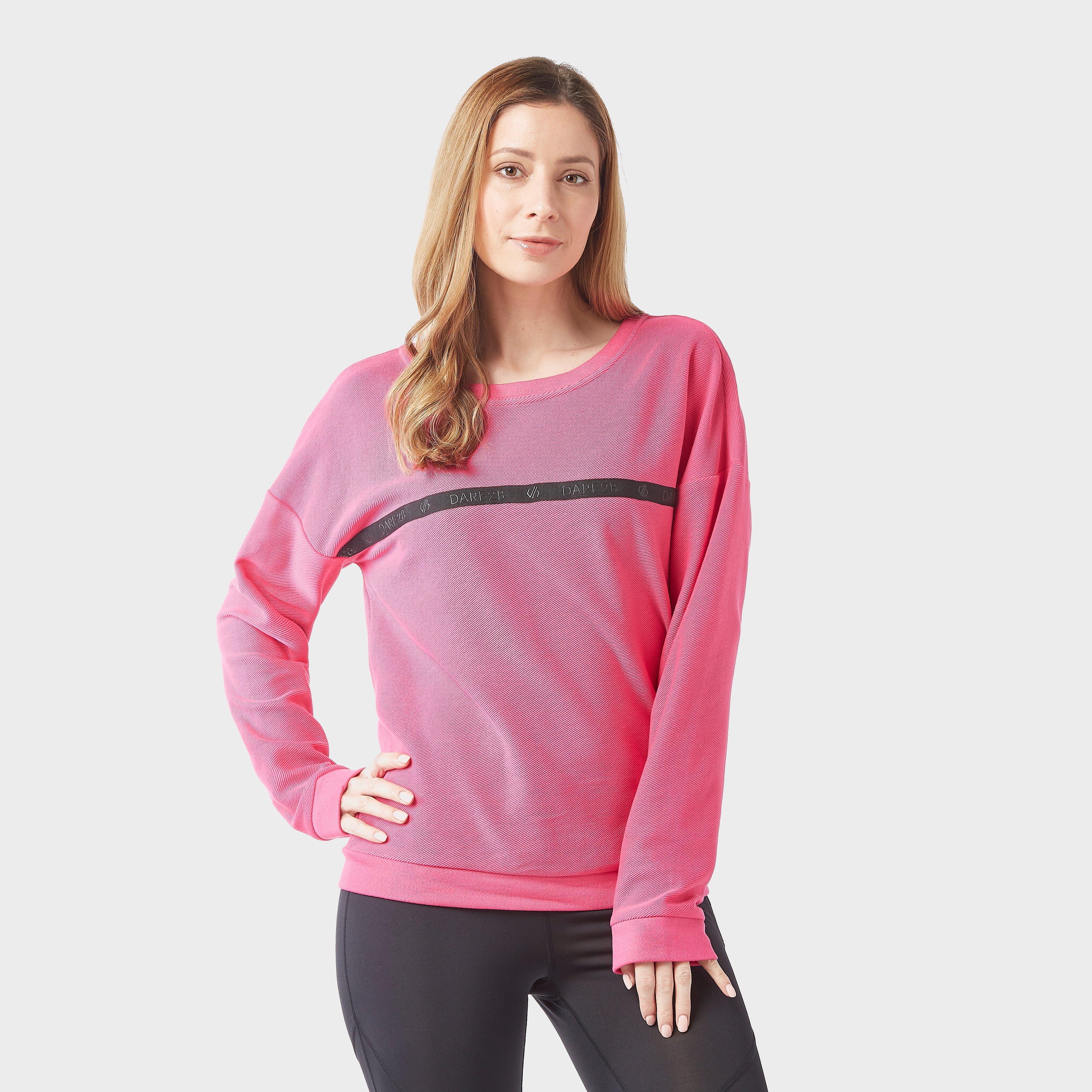 Dare 2B Women's Resilience Sweatshirt, Pink