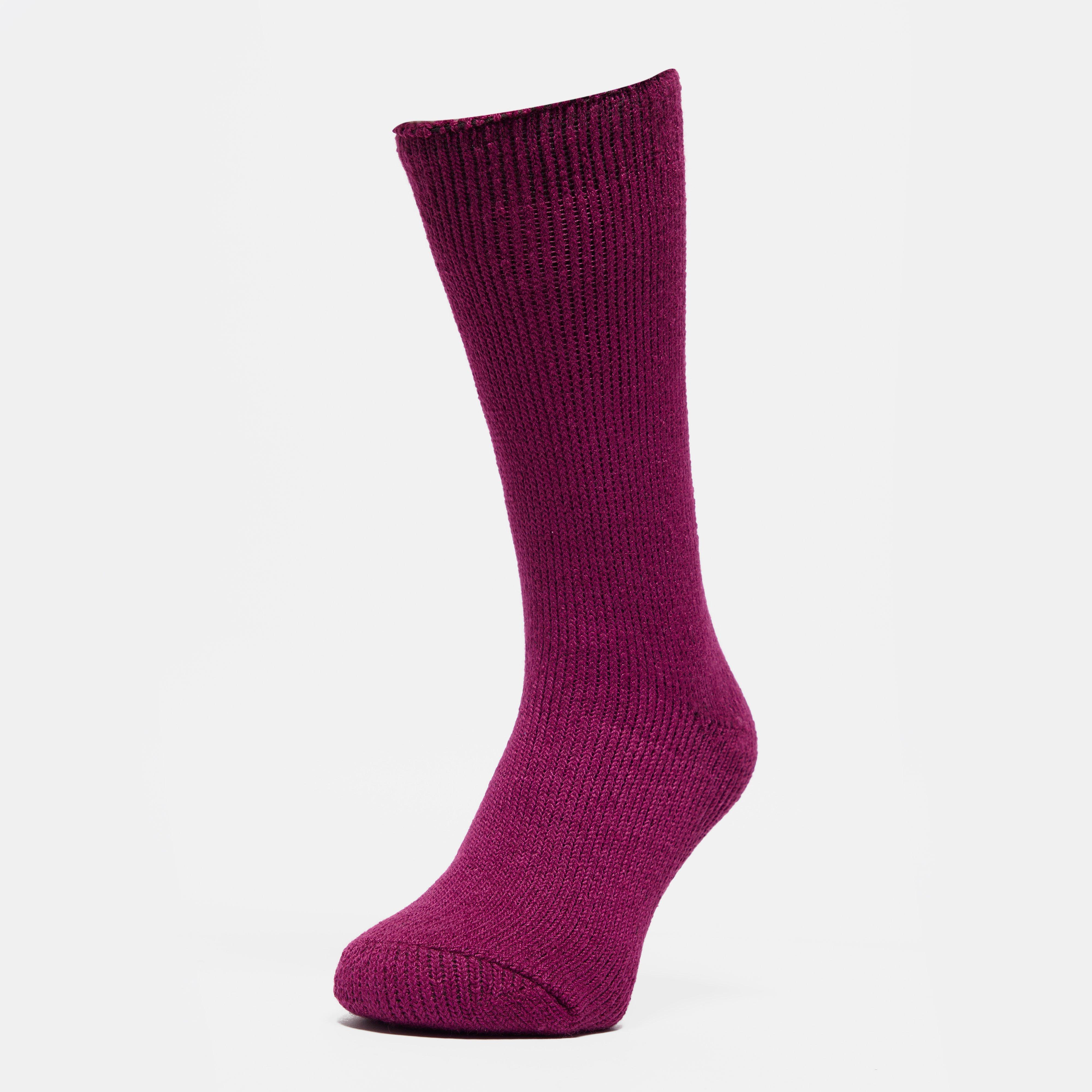 Heat Holders Women's Original Thermal Socks, Purple