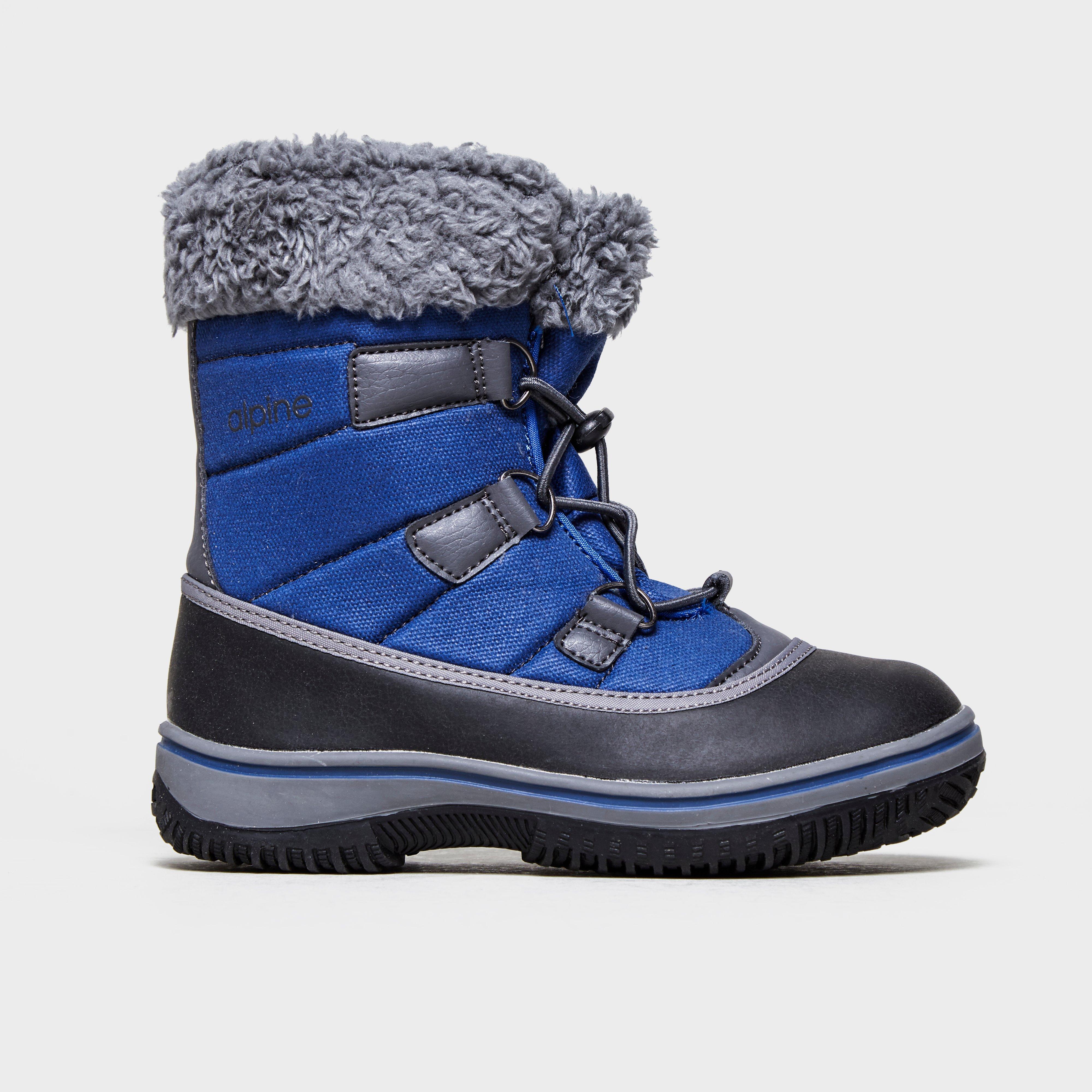 Alpine Boys' Snow Boot, Blue