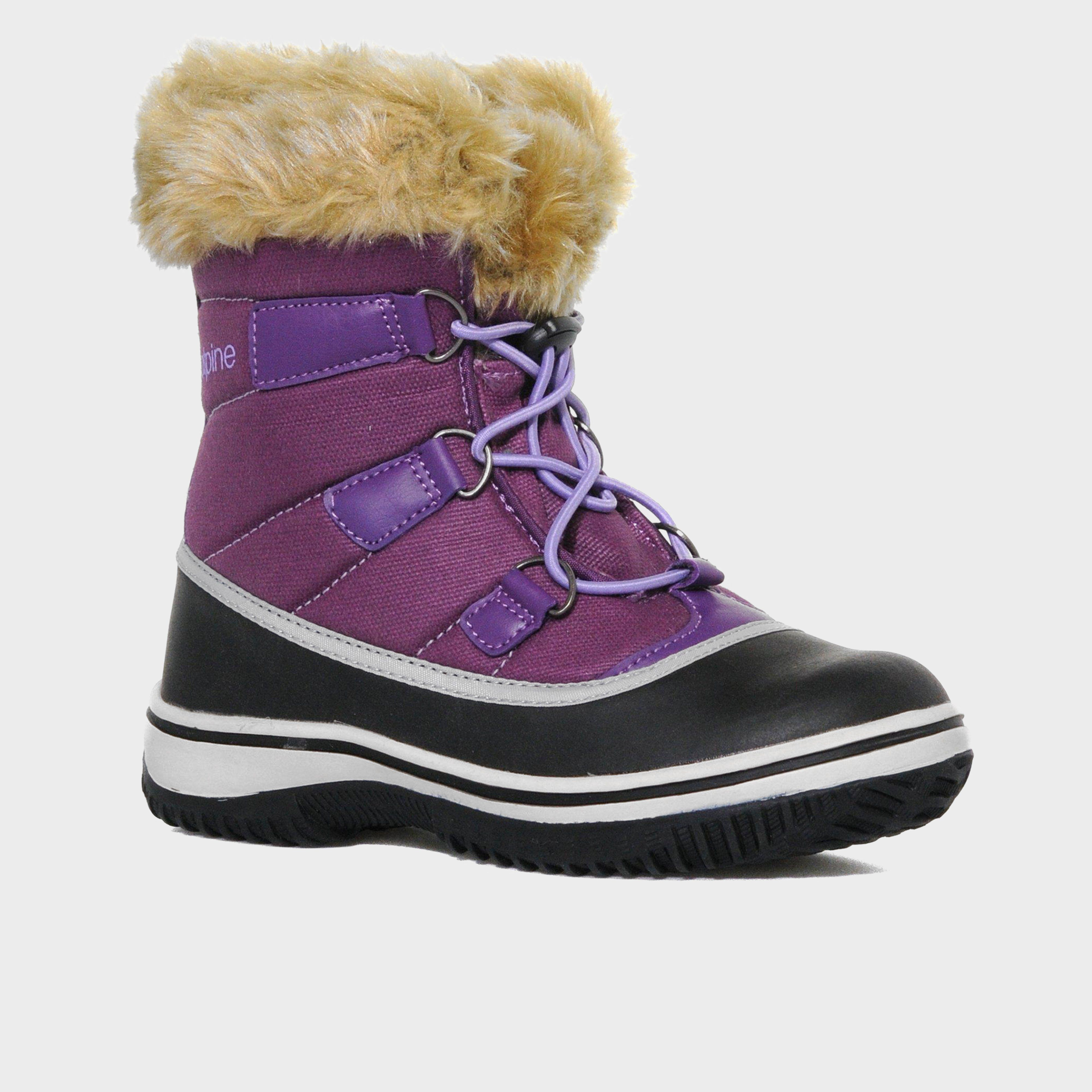 ALPINE Girls' Snow Boot