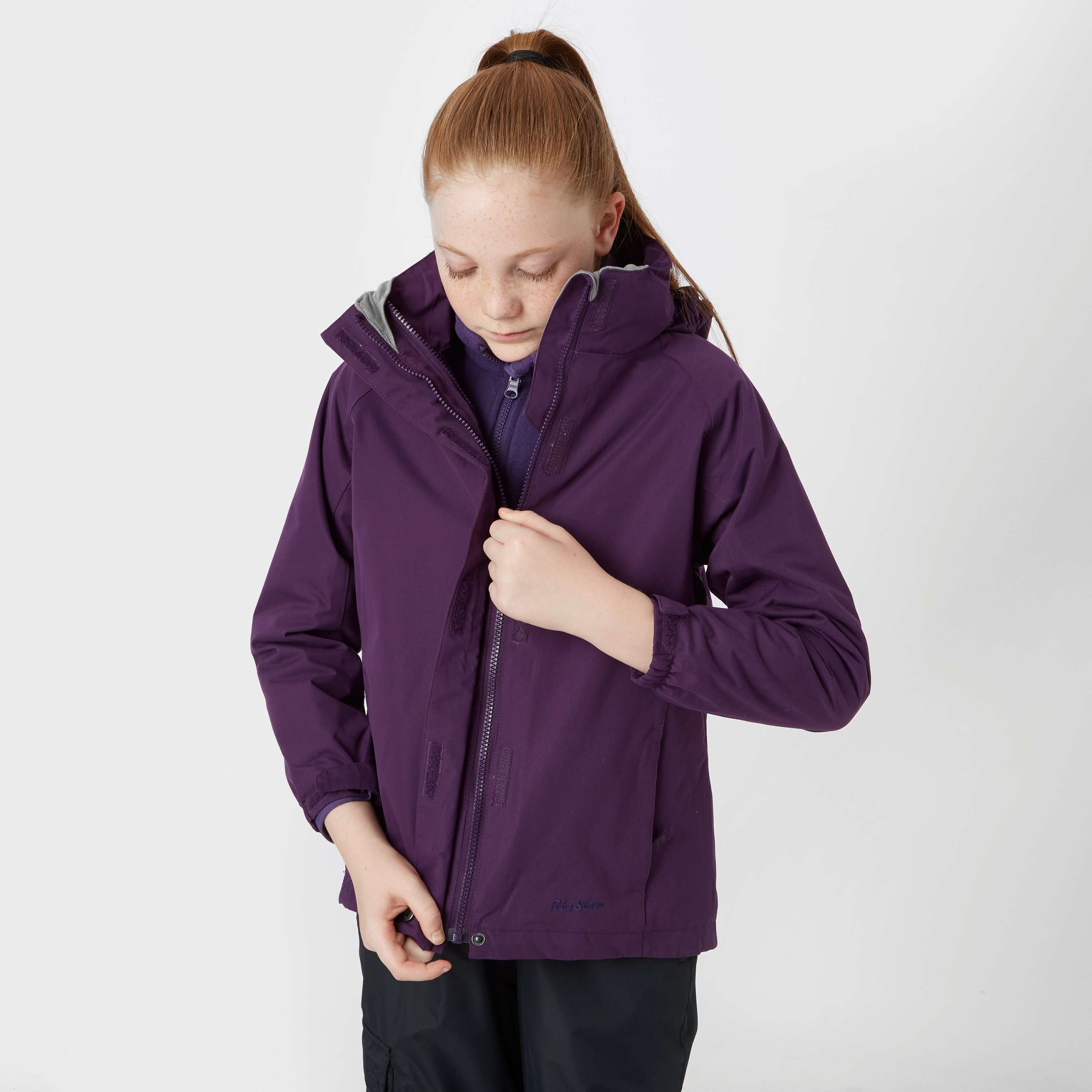 PETER STORM Girl's Beat The Storm 3 in 1 Jacket