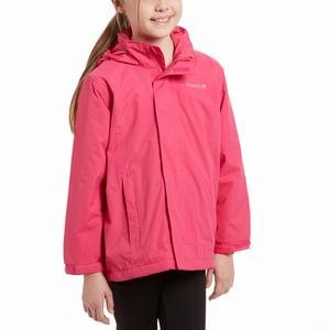 REGATTA Girls' Westburn Waterproof Jacket