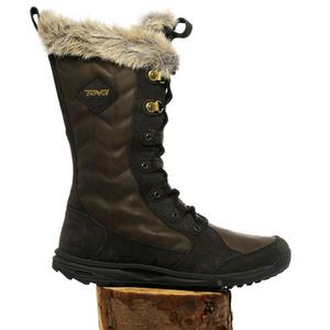 TEVA Women's Lenawee Leather Waterproof Winter Boot