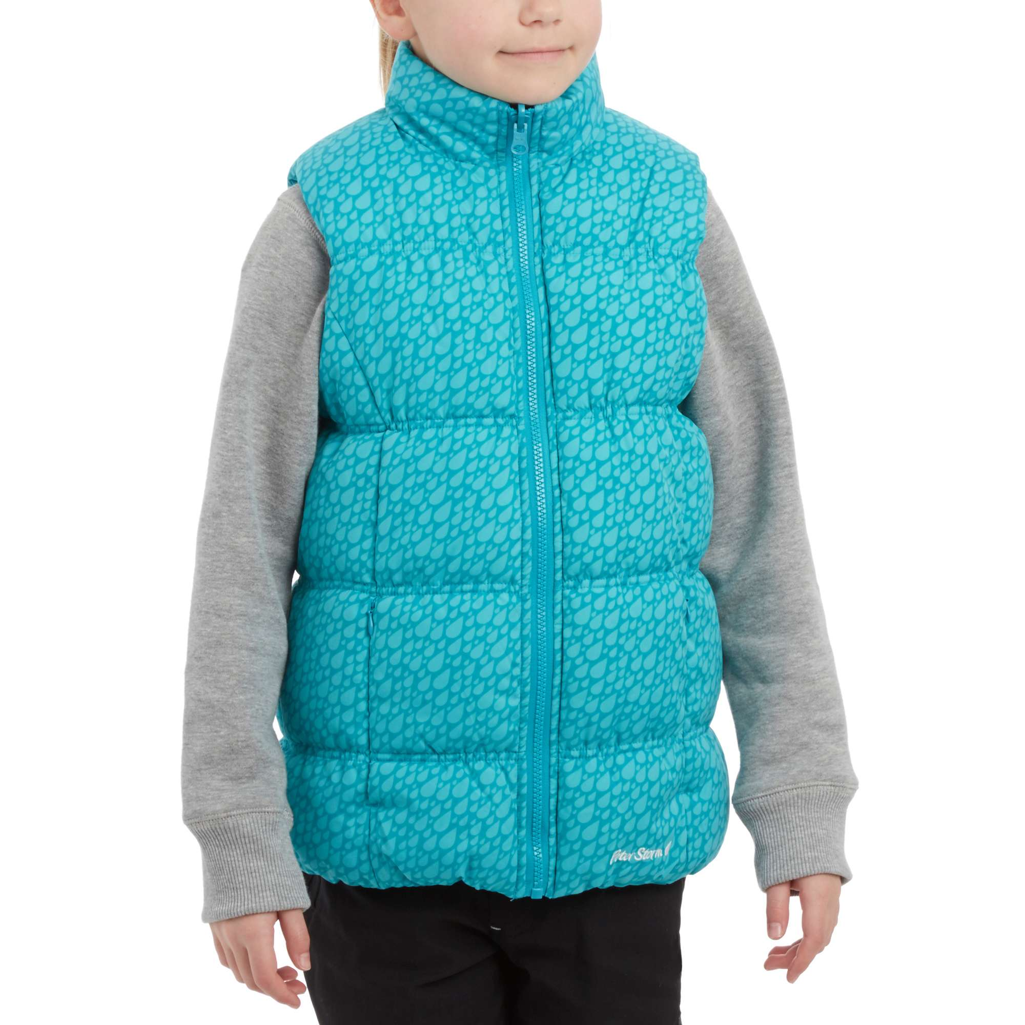 PETER STORM Girls' Cinder Reversible Gilet