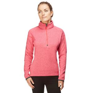 PETER STORM Women's Knit Look Half Zip Fleece