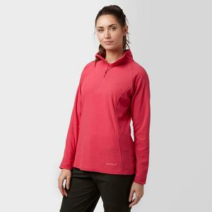 PETER STORM Women's Half Zip Striped Microfleece